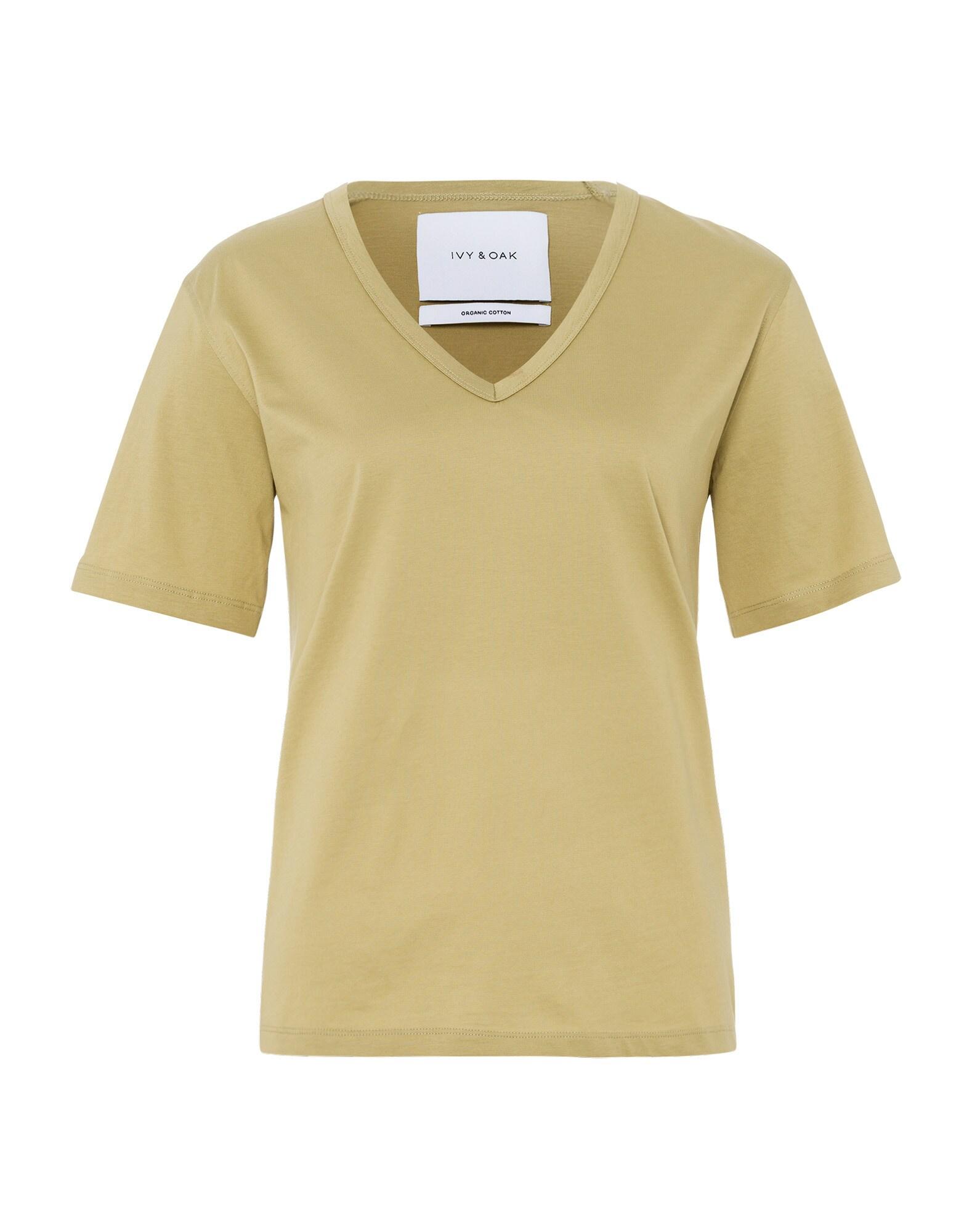 IVY & OAK Marškinėliai alyvuogių spalva