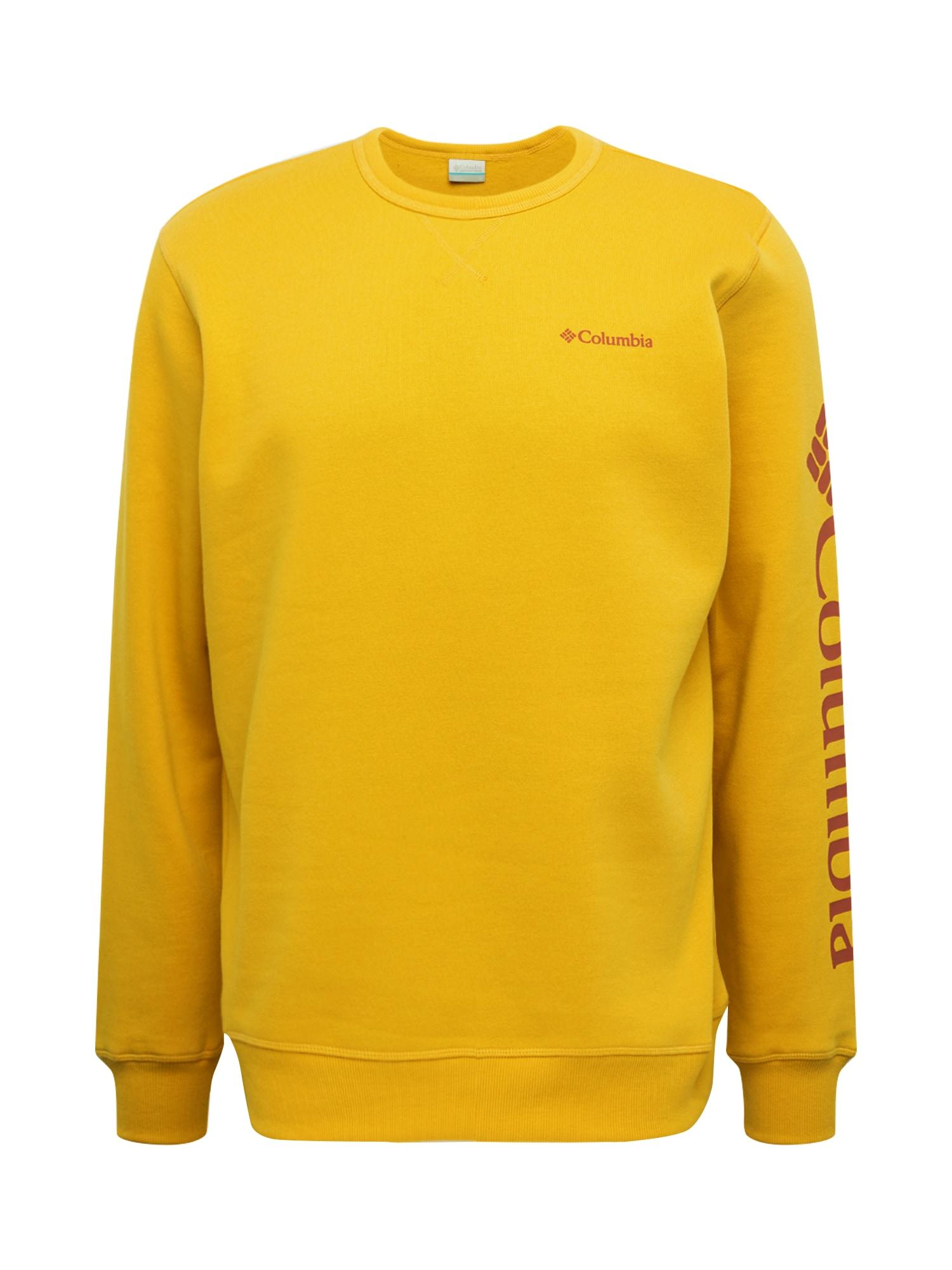 COLUMBIA Megztinis be užsegimo aukso geltonumo spalva