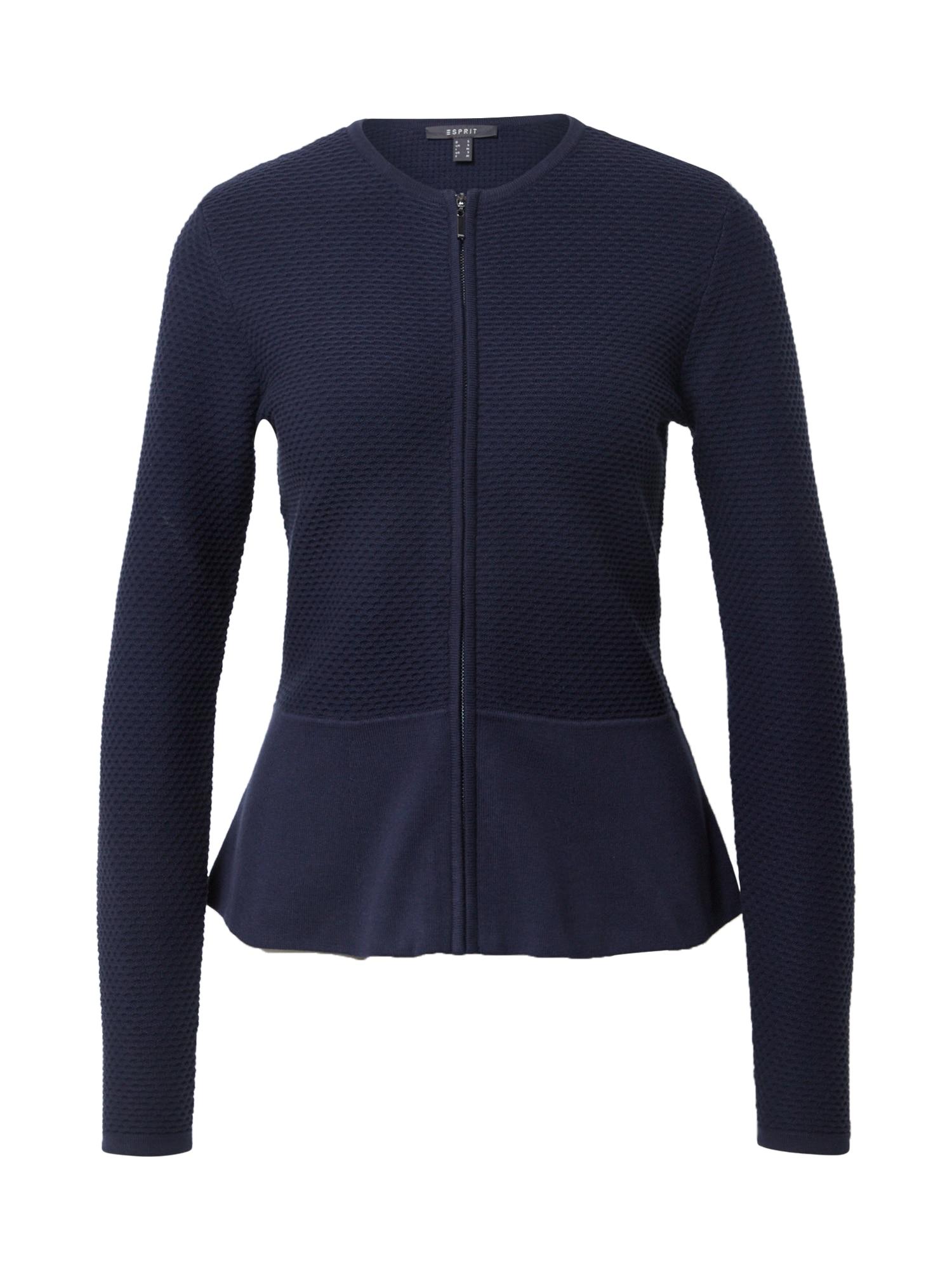 Esprit Collection Kardiganas tamsiai mėlyna