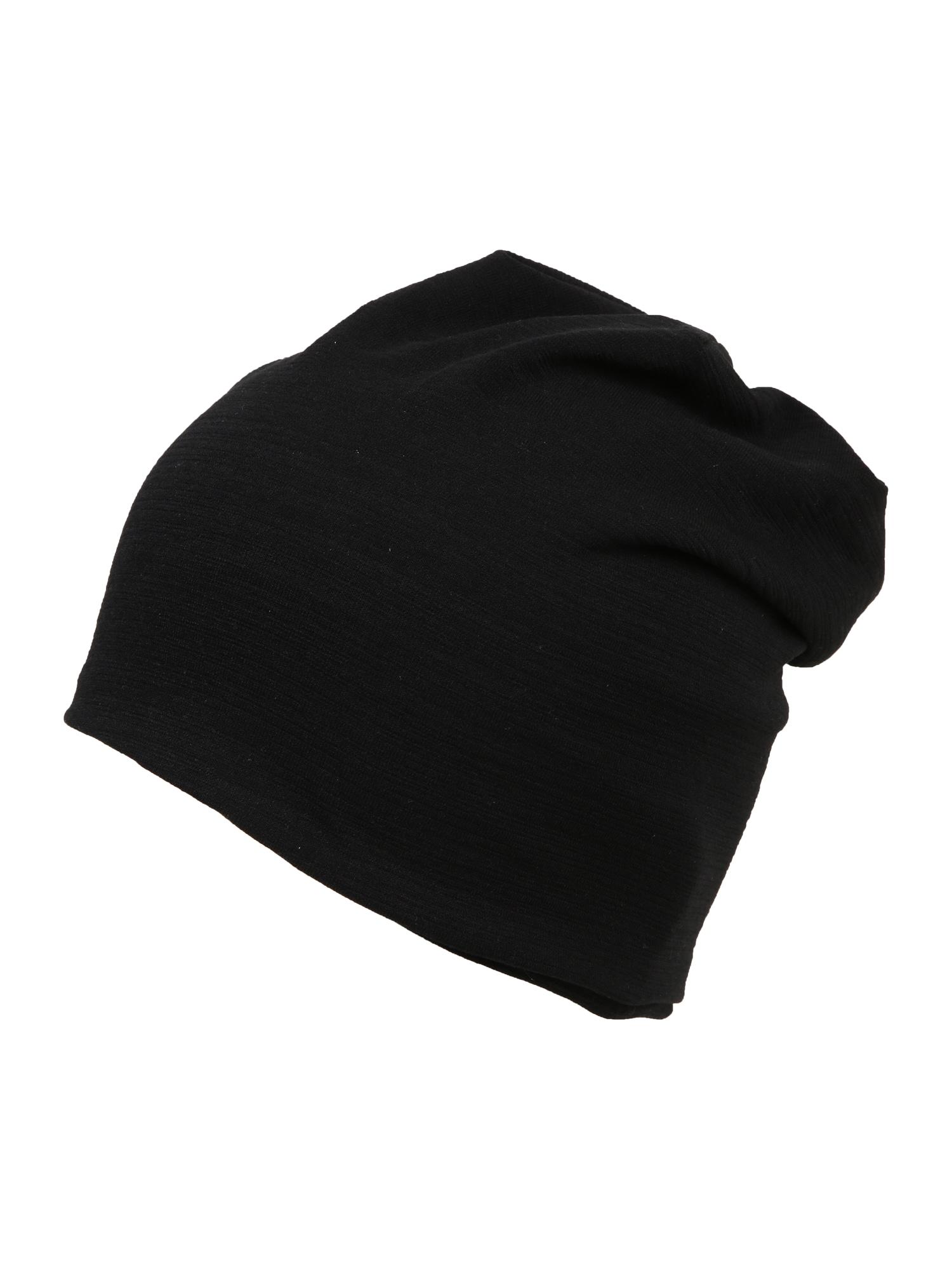 chillouts Megzta kepurė 'Skive' juoda