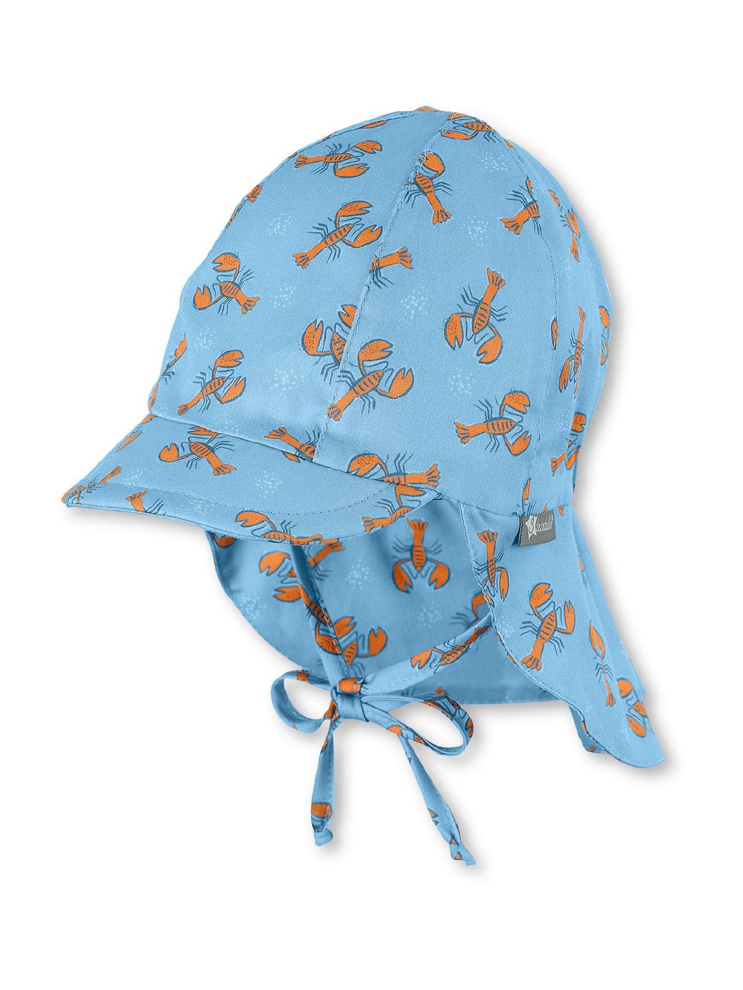 STERNTALER Skrybėlaitė šviesiai mėlyna / tamsiai oranžinė / mėlyna