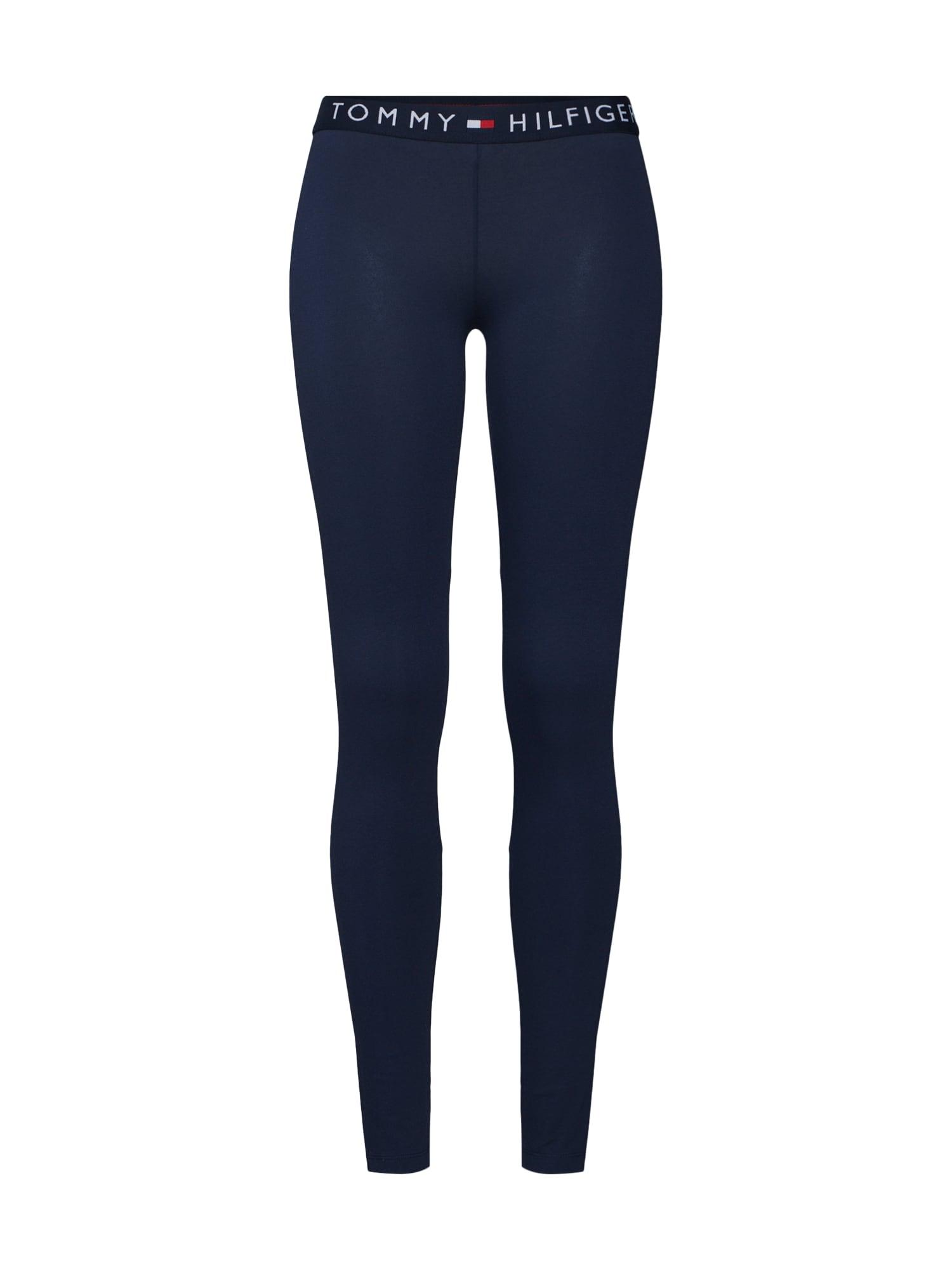Tommy Hilfiger Underwear Pyžamové nohavice  tmavomodrá