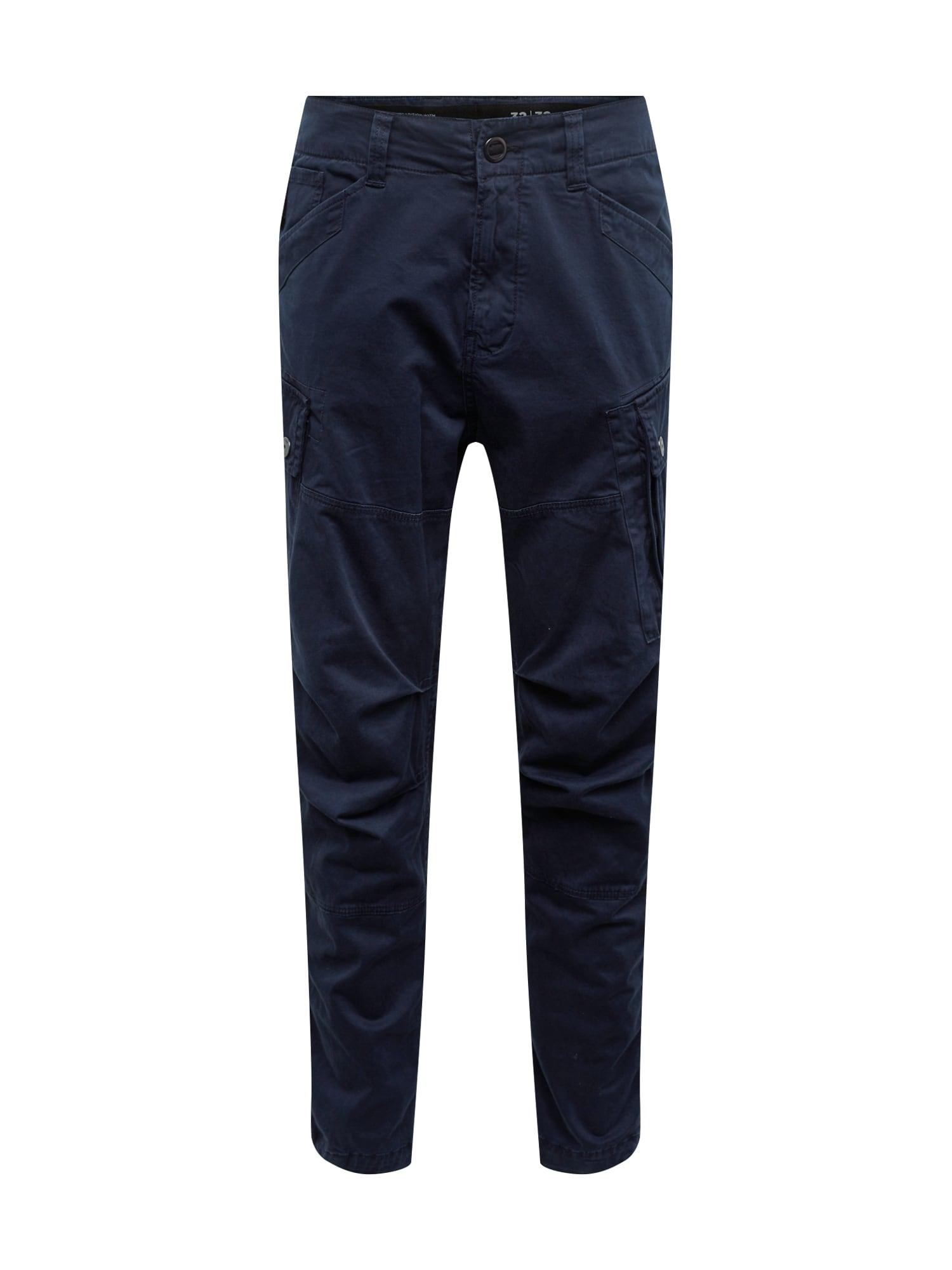 G-Star RAW Laisvo stiliaus kelnės 'Roxic cargo' tamsiai mėlyna