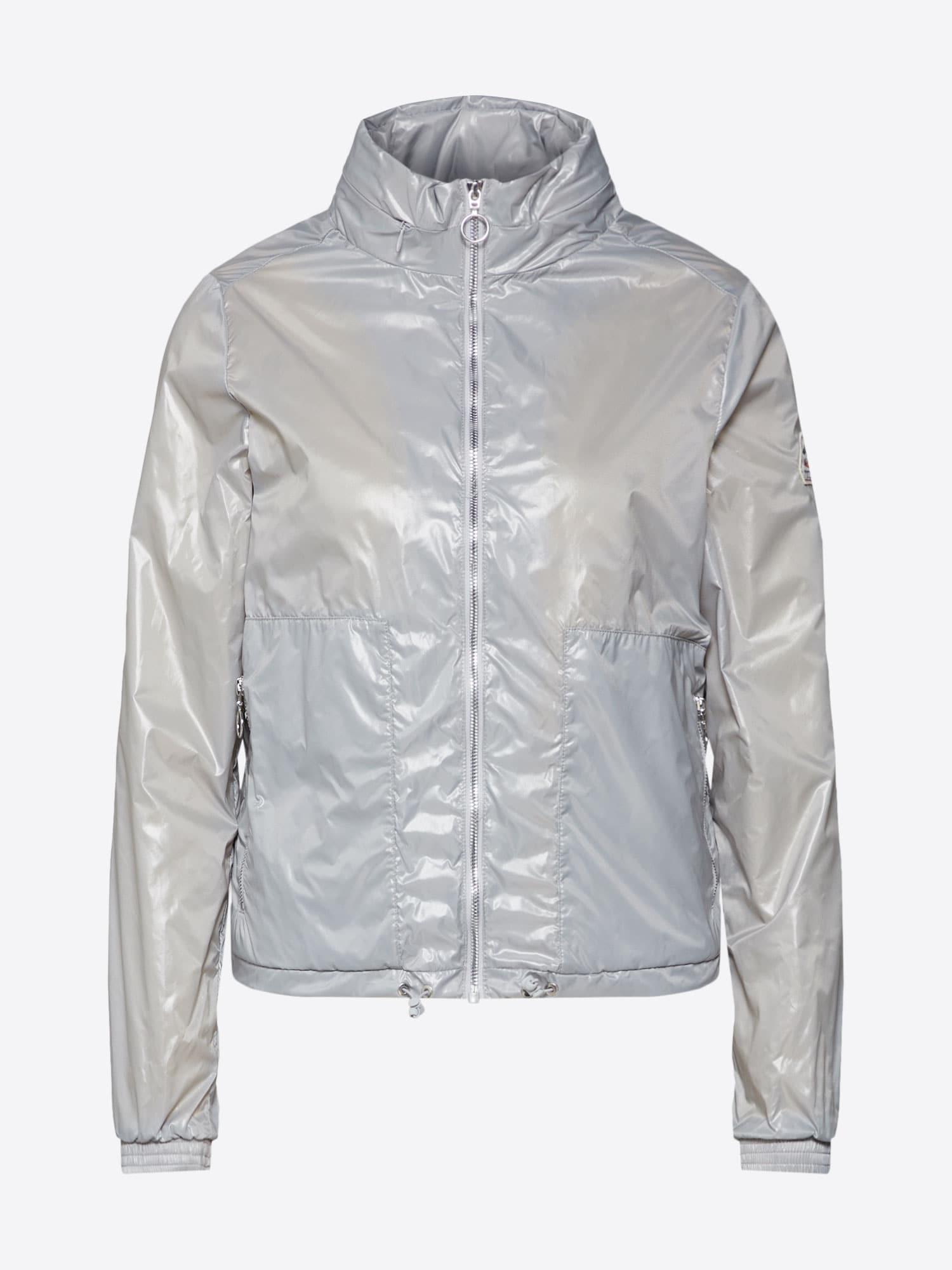 Přechodná bunda Ernsta stříbrná PYRENEX
