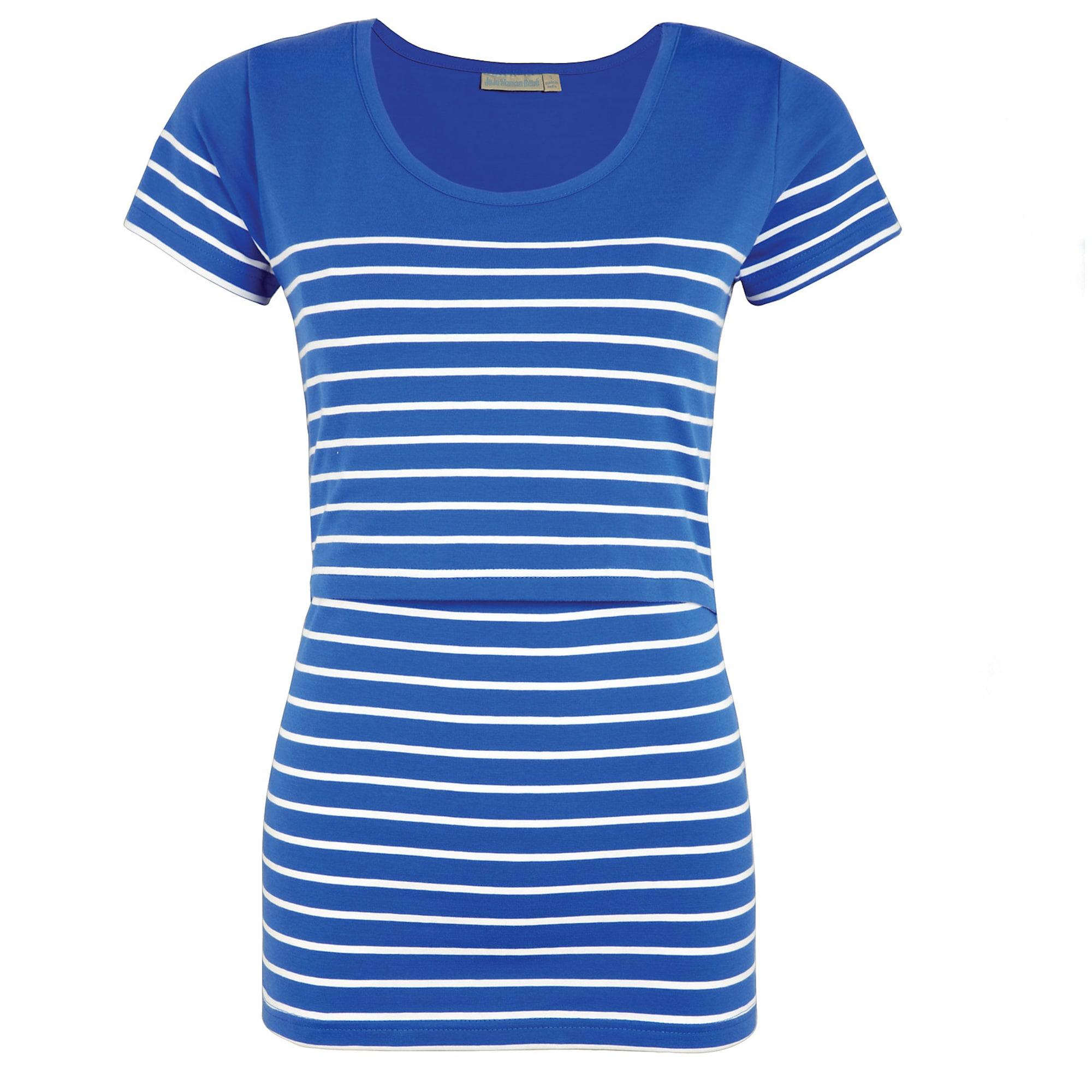 JoJo Maman Bébé Marškinėliai mėlyna