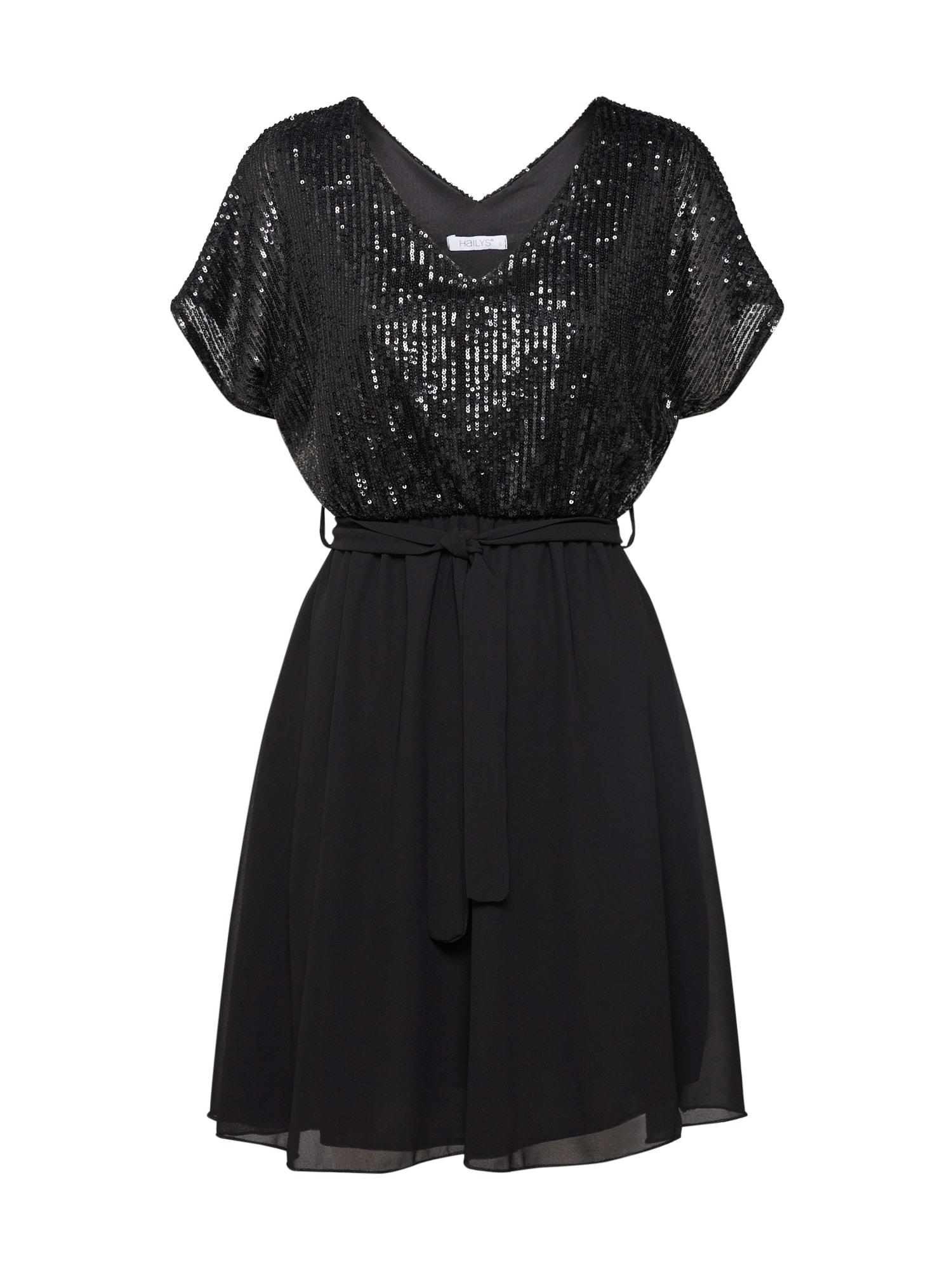 Hailys Kokteilinė suknelė 'Elisa' juoda