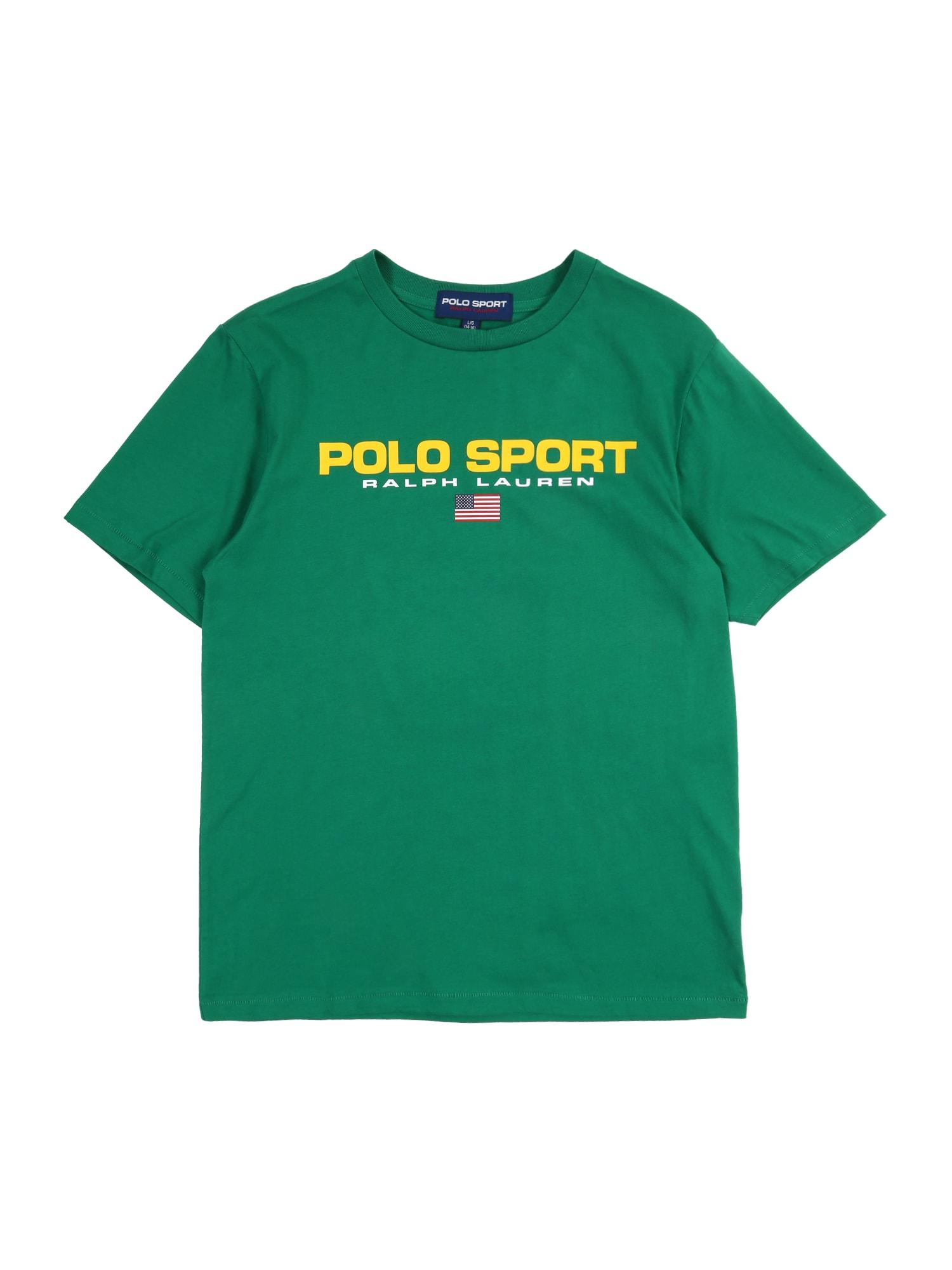 POLO RALPH LAUREN Marškinėliai 'SS CN' žalia