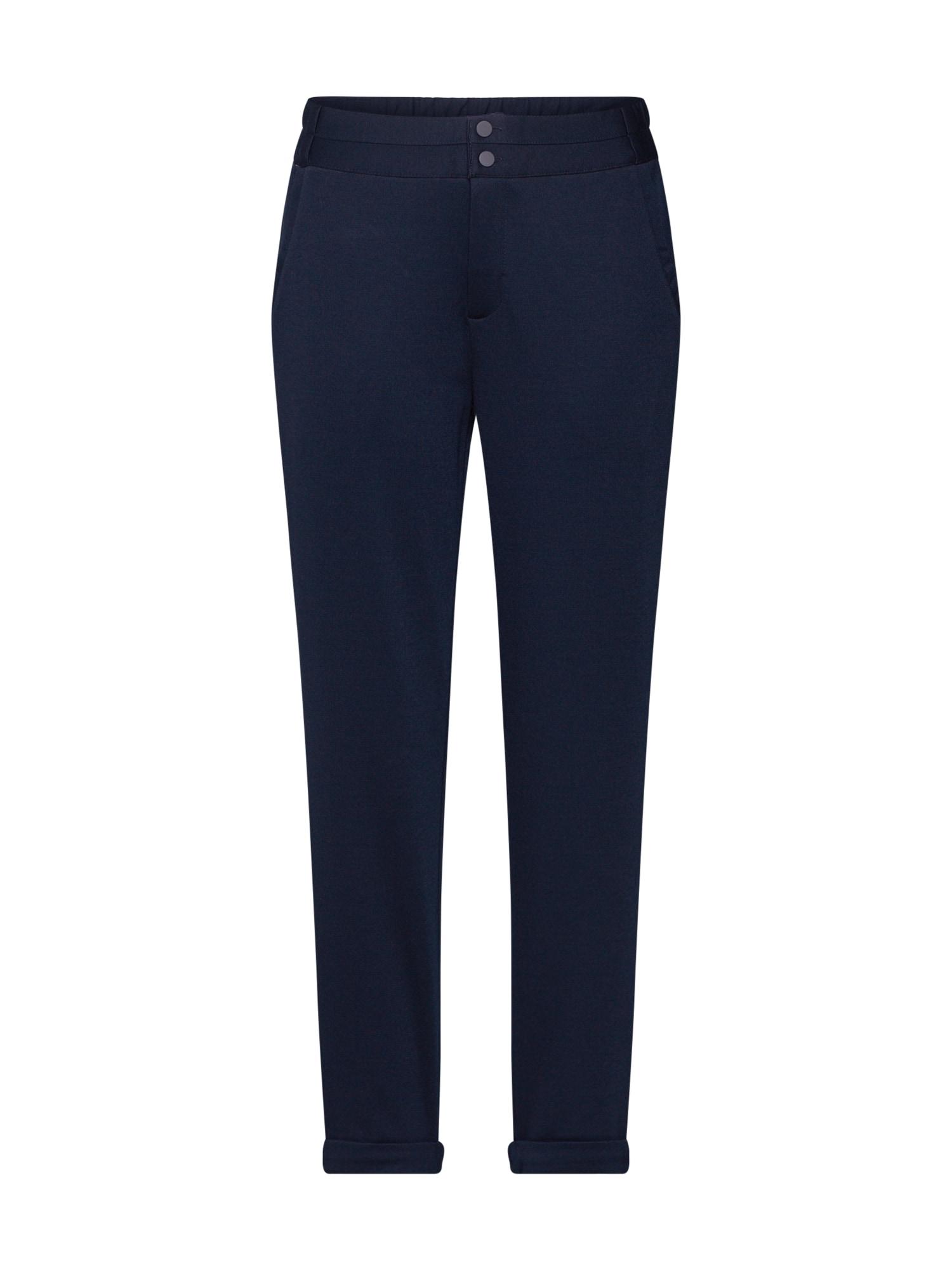 Freequent Chino stiliaus kelnės 'NANNI' tamsiai mėlyna