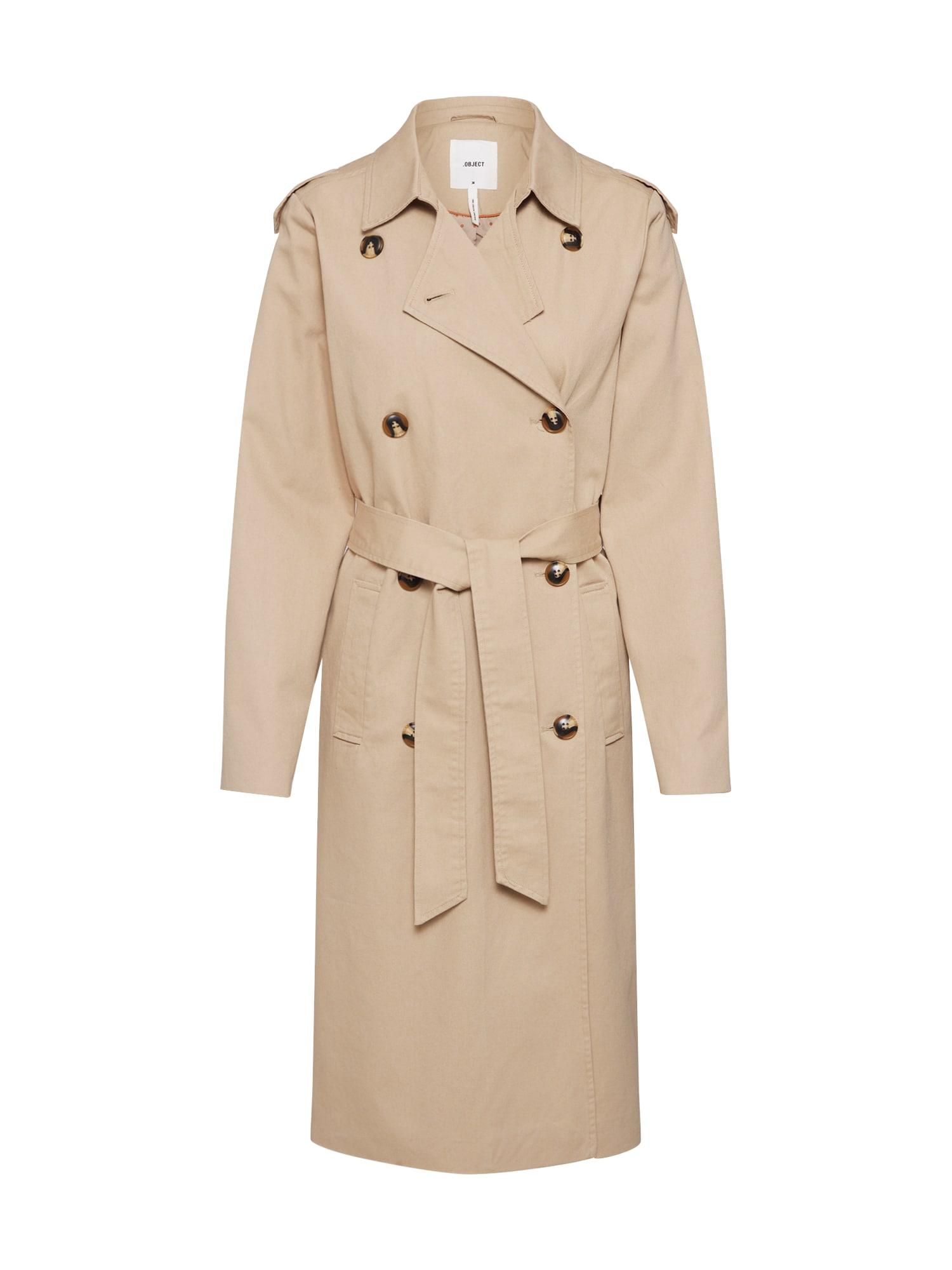 OBJECT Rudeninis-žieminis paltas 'SHYLA' smėlio