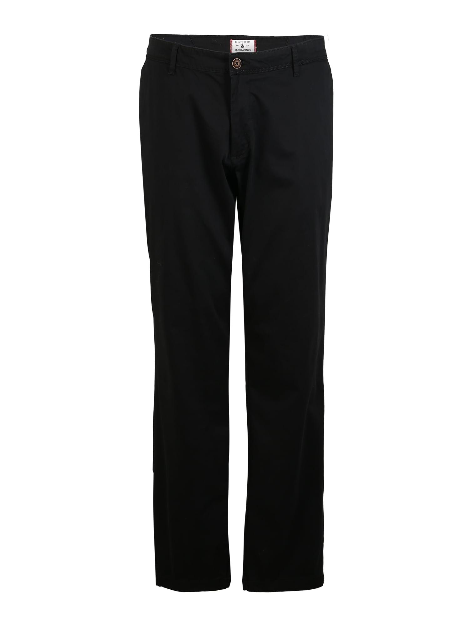 Jack & Jones Plus Chino nadrág 'MARCO BOWIE'  fekete