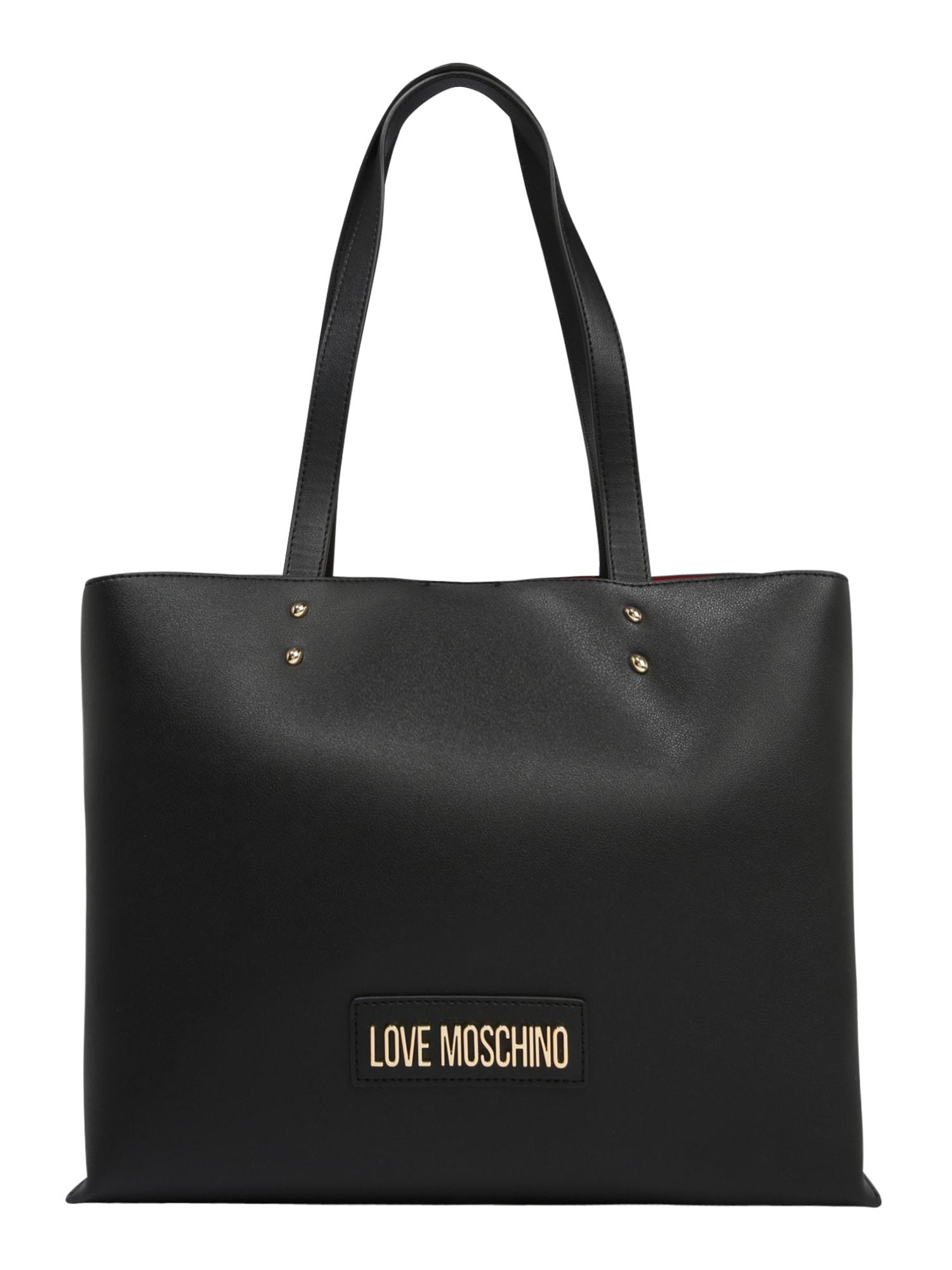 Love Moschino Pirkinių krepšys 'BORSA' juoda