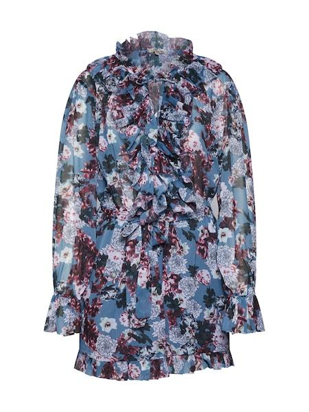 Hosen - Kleid 'NIKIRA' › Farina Opoku › blau mischfarben  - Onlineshop ABOUT YOU