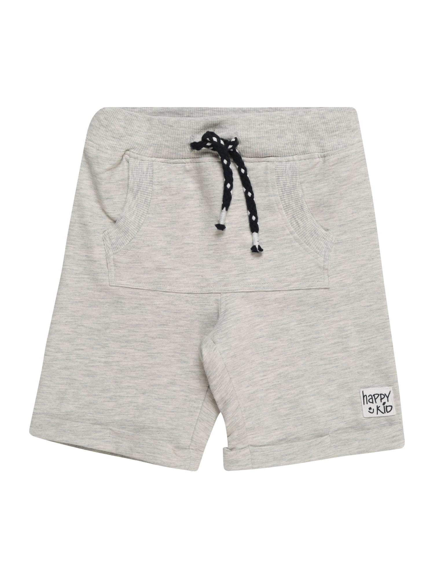 Kalhoty JUMMO šedý melír NAME IT