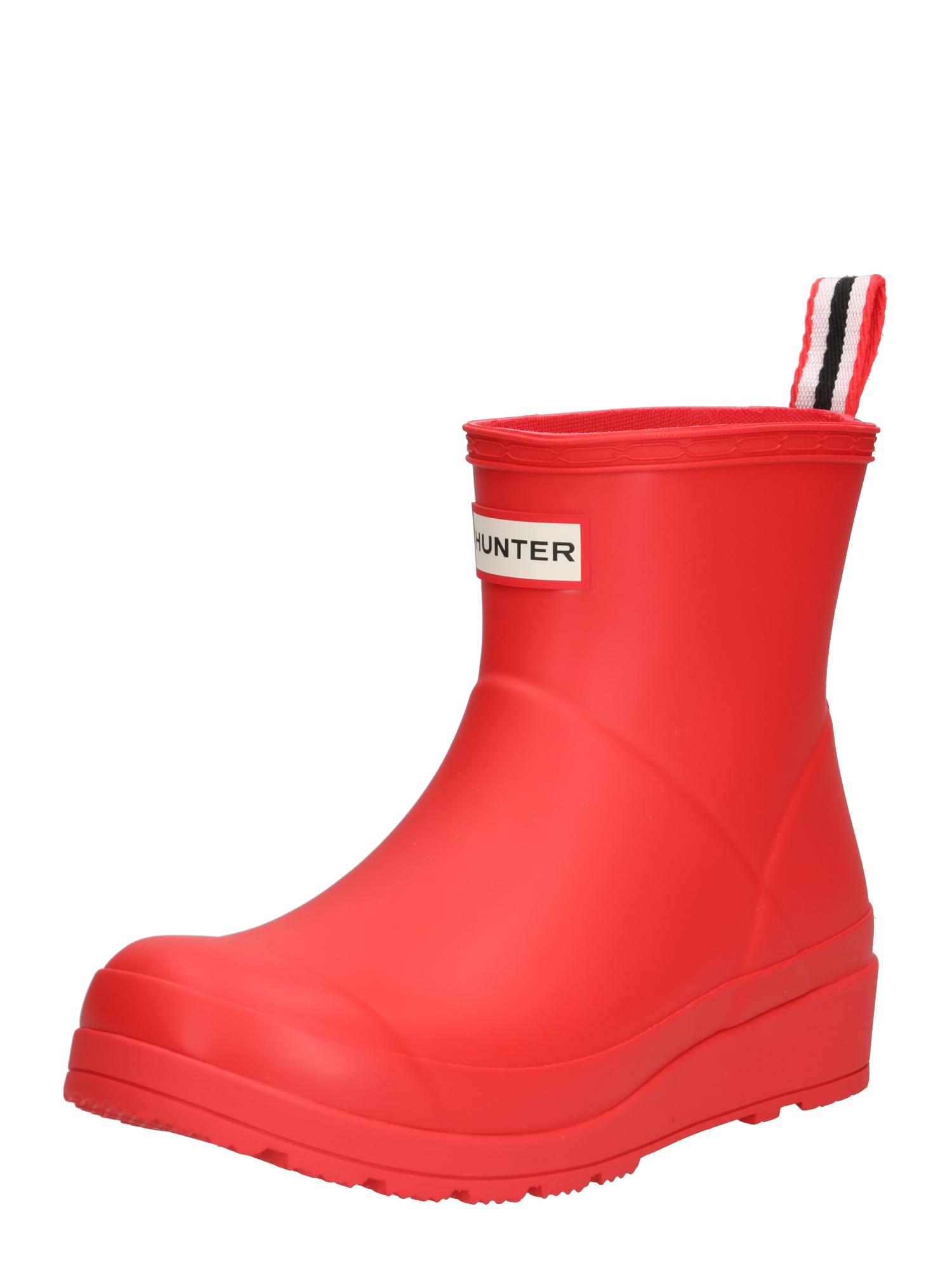 HUNTER Guminiai batai 'Play' ryškiai raudona