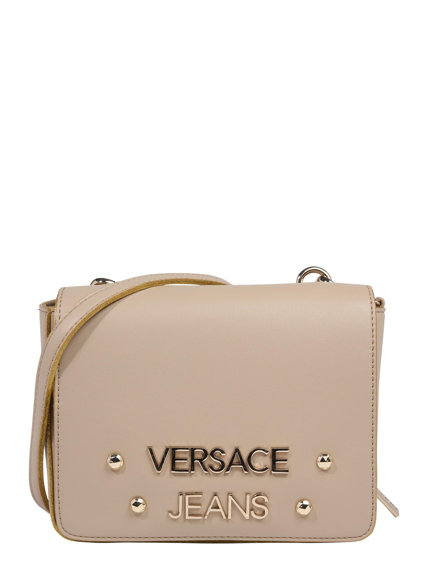 Taška přes rameno béžová Versace Jeans