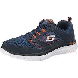 Skechers Herren Sneakers Flex Advantage blau,orange,weiß | 00887047919713