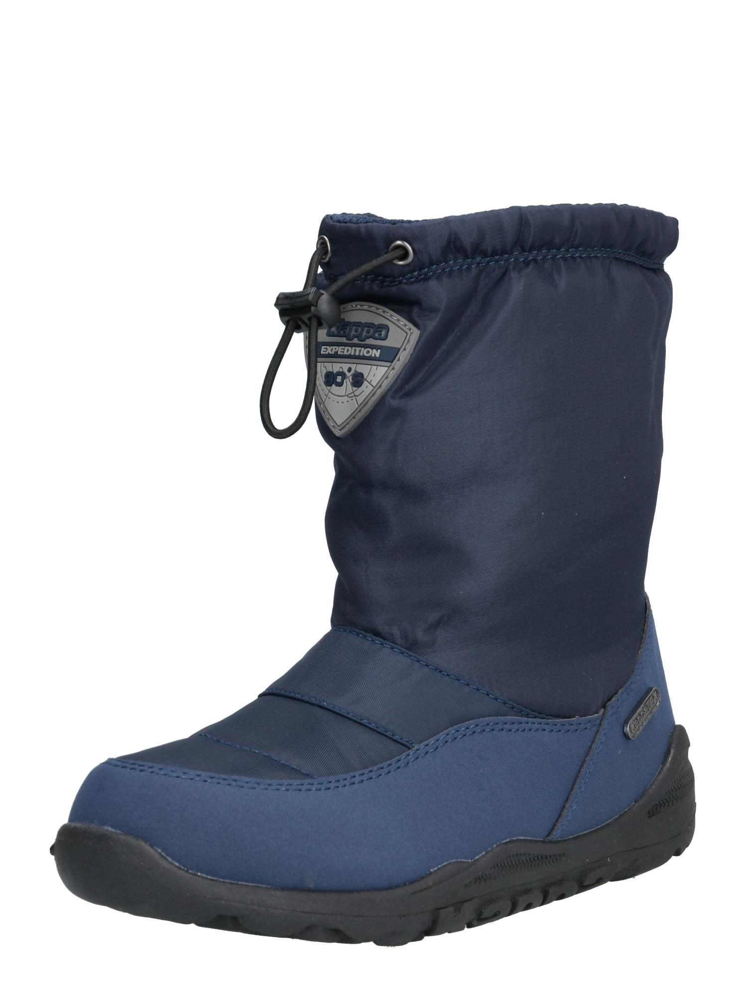 KAPPA Sniego batai 'WEAM TEX' tamsiai mėlyna / juoda