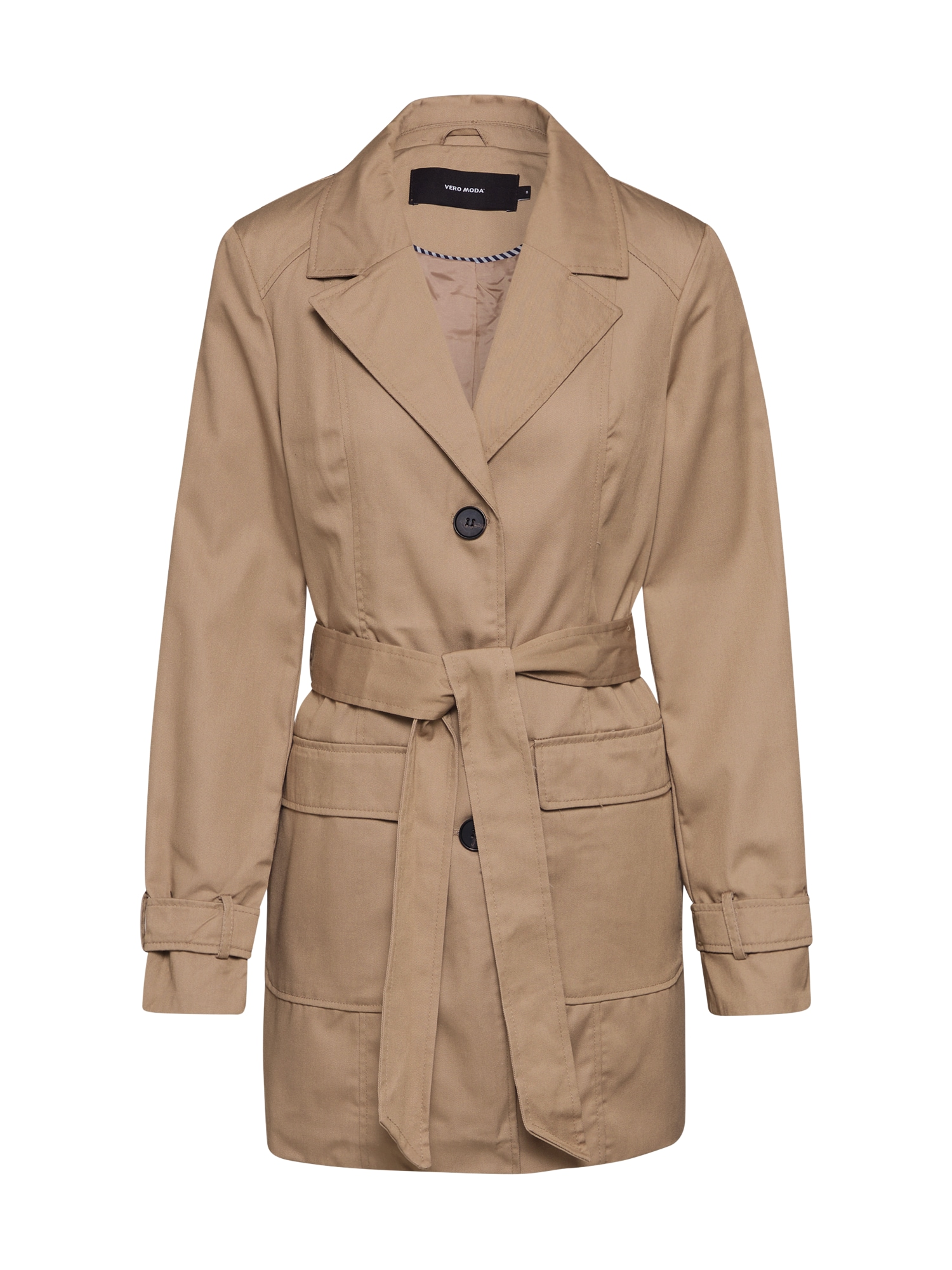 VERO MODA Přechodný kabát 'VMABBYSOFIA'  béžová