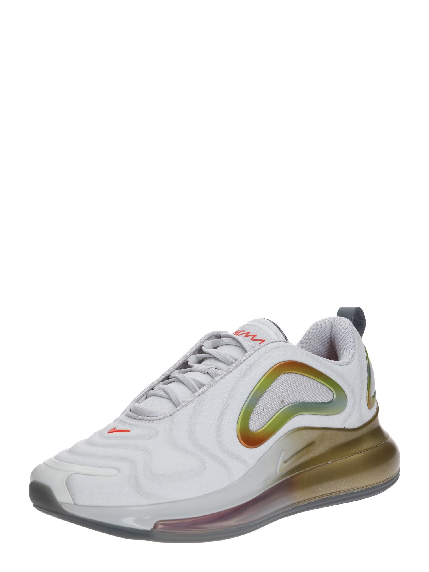 Nike Sportswear Sportbačiai be auliuko 'Air Max 720' pilka / oranžinė / balta