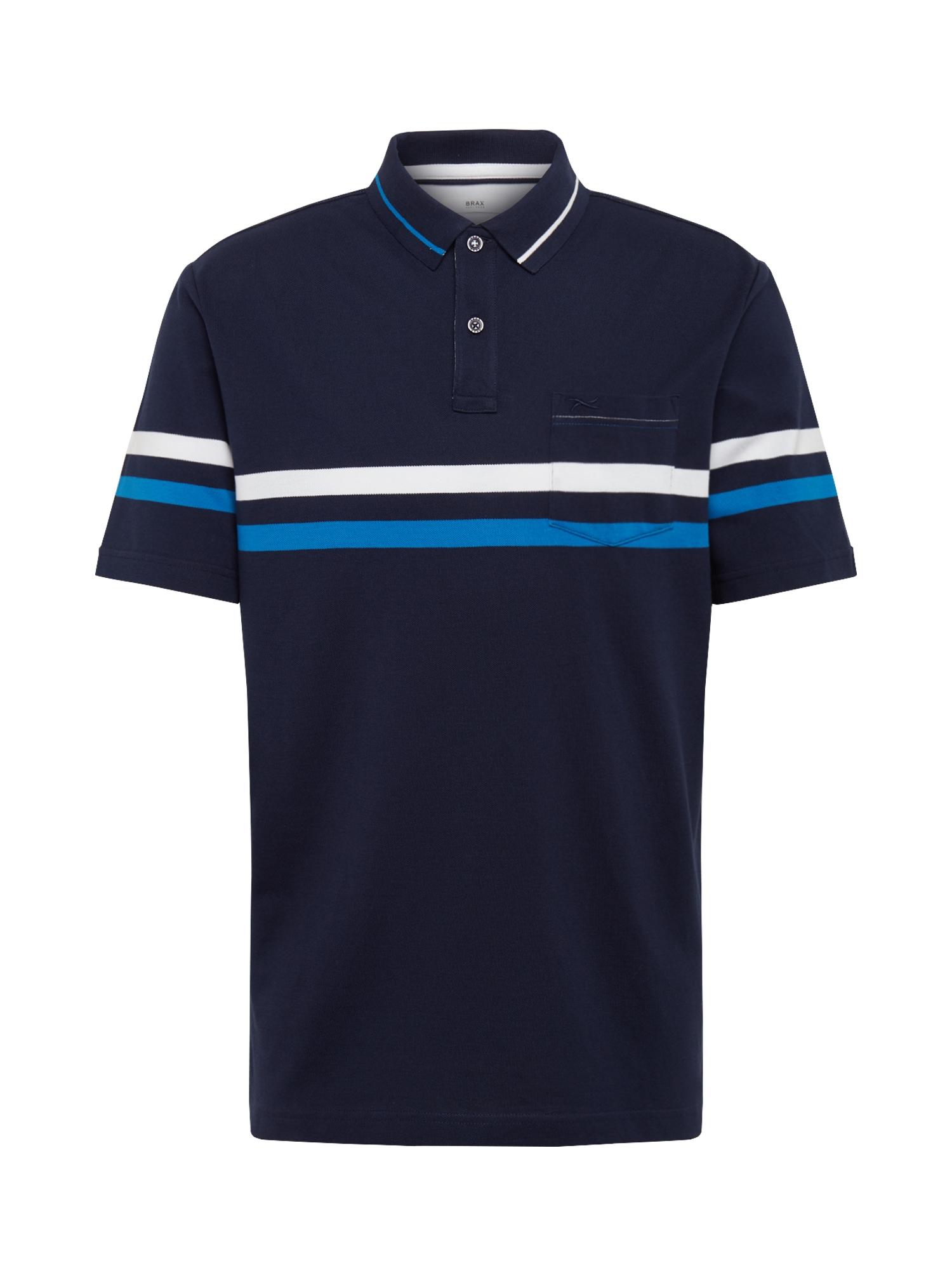 BRAX Marškinėliai 'Piero' tamsiai mėlyna