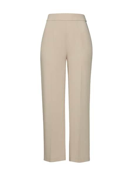 Hosen für Frauen - EDITED Hose 'Anne' beige offwhite  - Onlineshop ABOUT YOU
