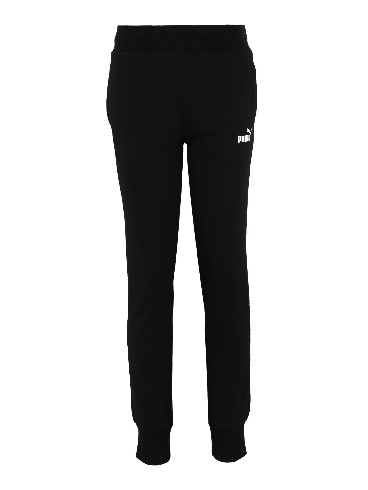 PUMA Sportinės kelnės juoda