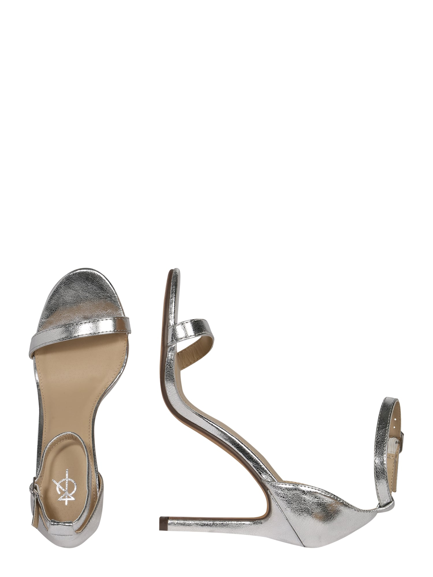 4th & Reckless Sandal 'JASMINE'  silver