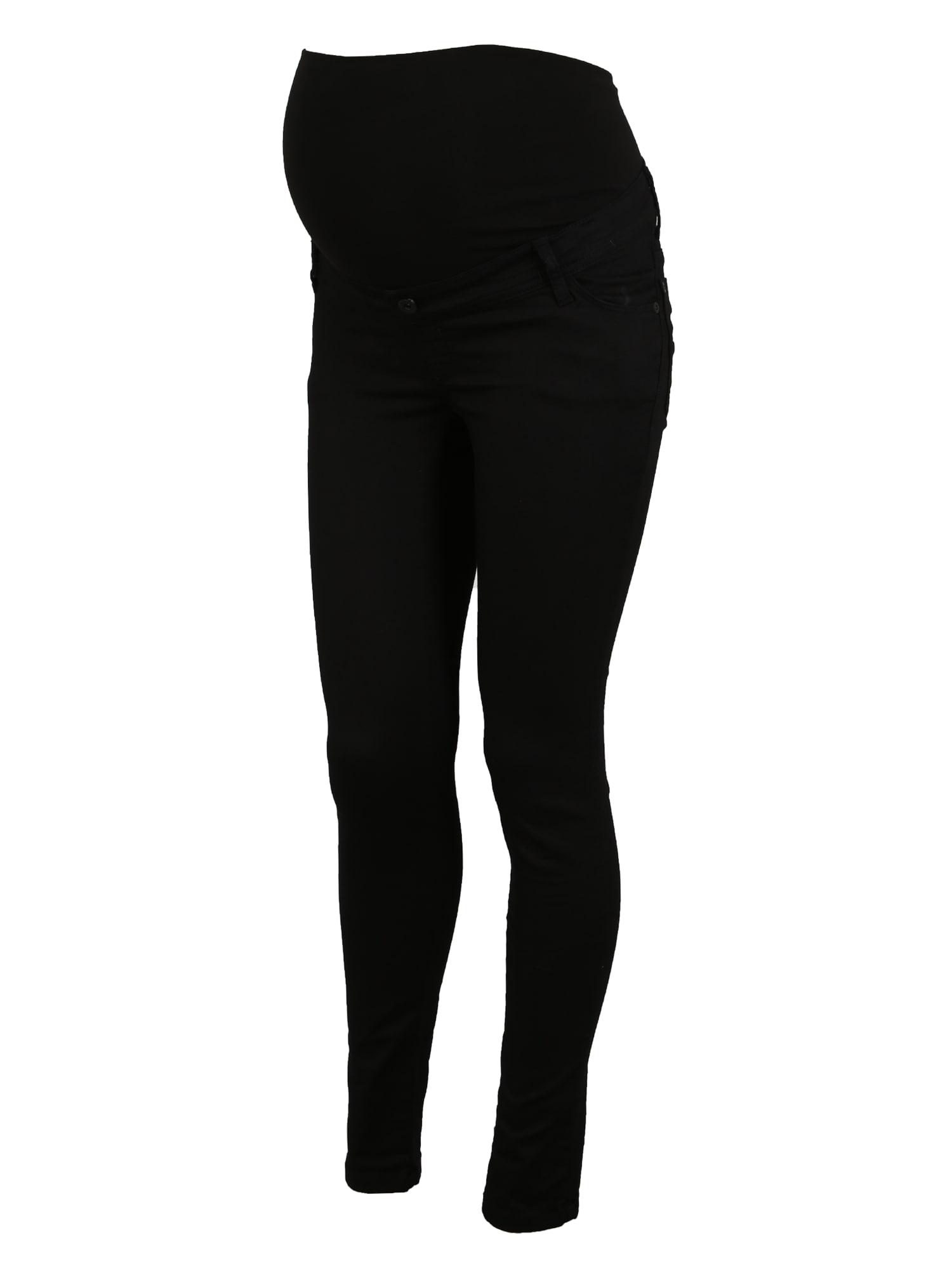 LOVE2WAIT Džinsai 'Sophia 30' juodo džinso spalva / juoda