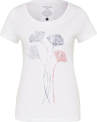 Armedangels T-Shirt 'Mari Ginkgo Leaves'