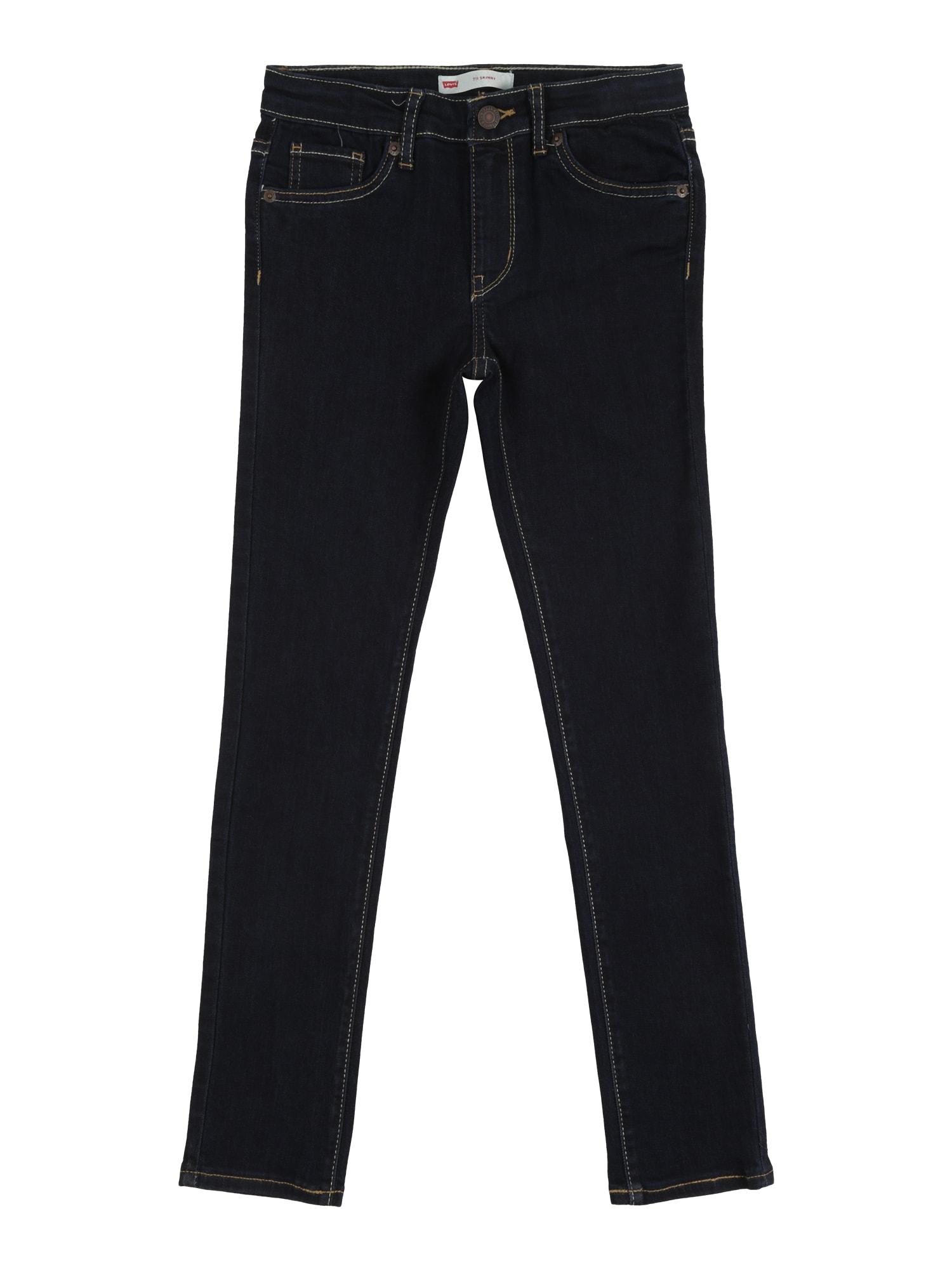 LEVI'S Džinsai '711 Skinny Jean' tamsiai (džinso) mėlyna