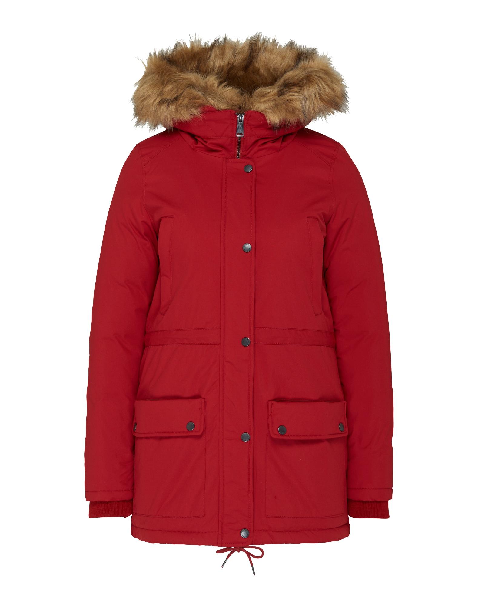 Schott NYC Ilga žieminė striukė 'Lucia' raudona