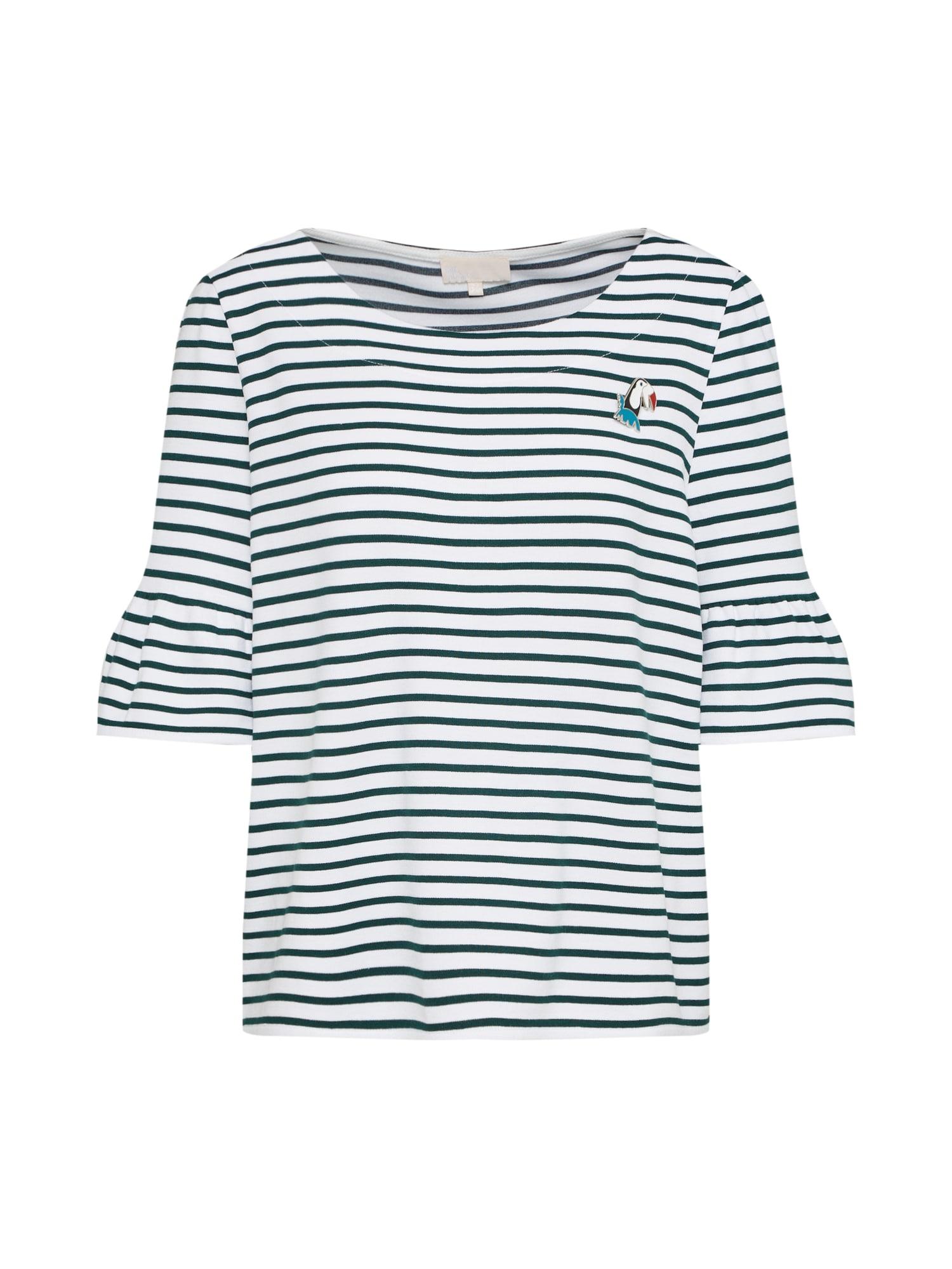 Tričko zelená bílá Talkabout