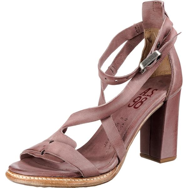 Sandalen für Frauen - A.S.98 Riemchensandaletten altrosa  - Onlineshop ABOUT YOU