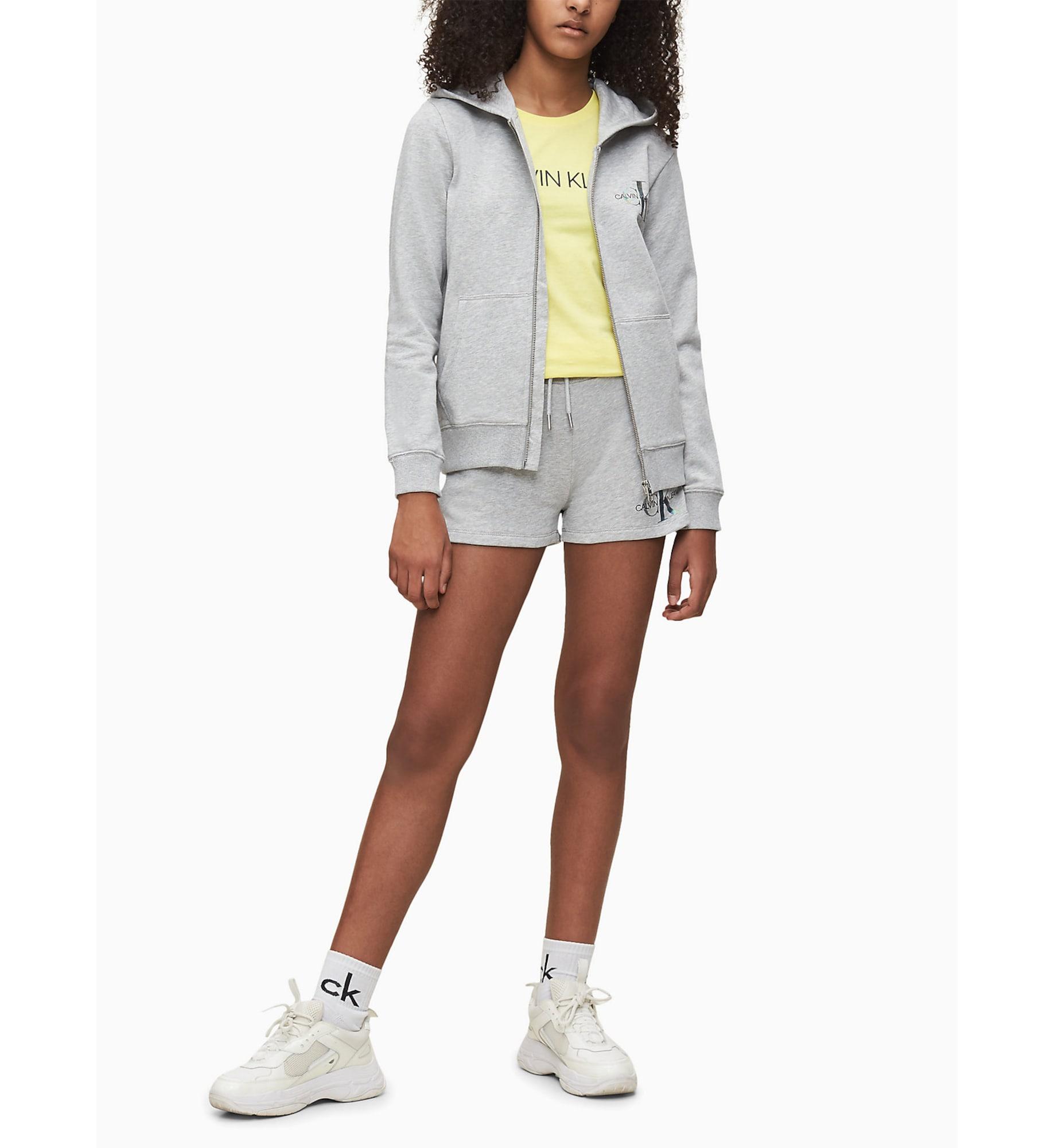 Calvin Klein Jeans Sweatjacka  gråmelerad