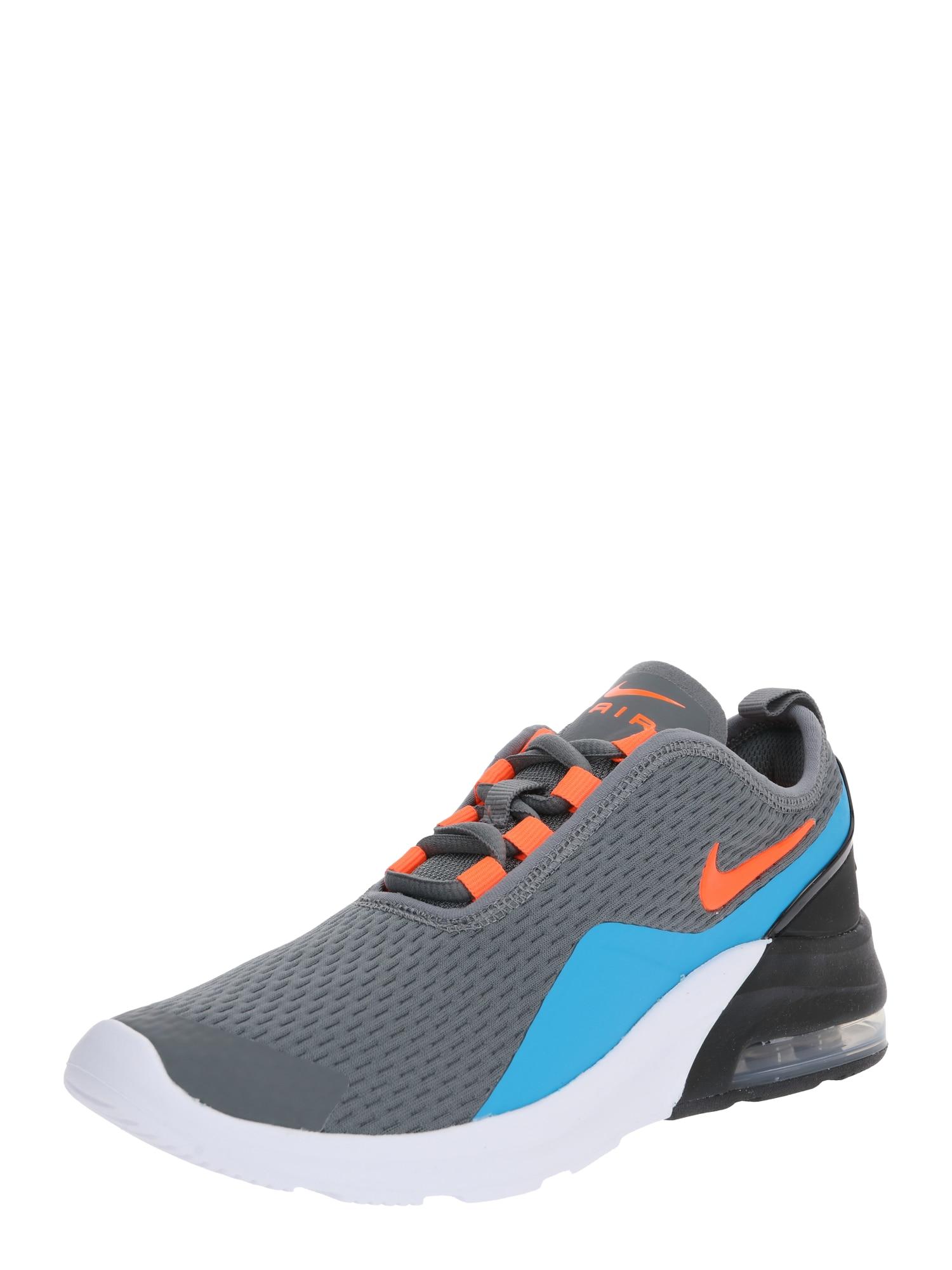 Nike Sportswear Sportbačiai 'Air Max Motion 2' pilka / mėlyna
