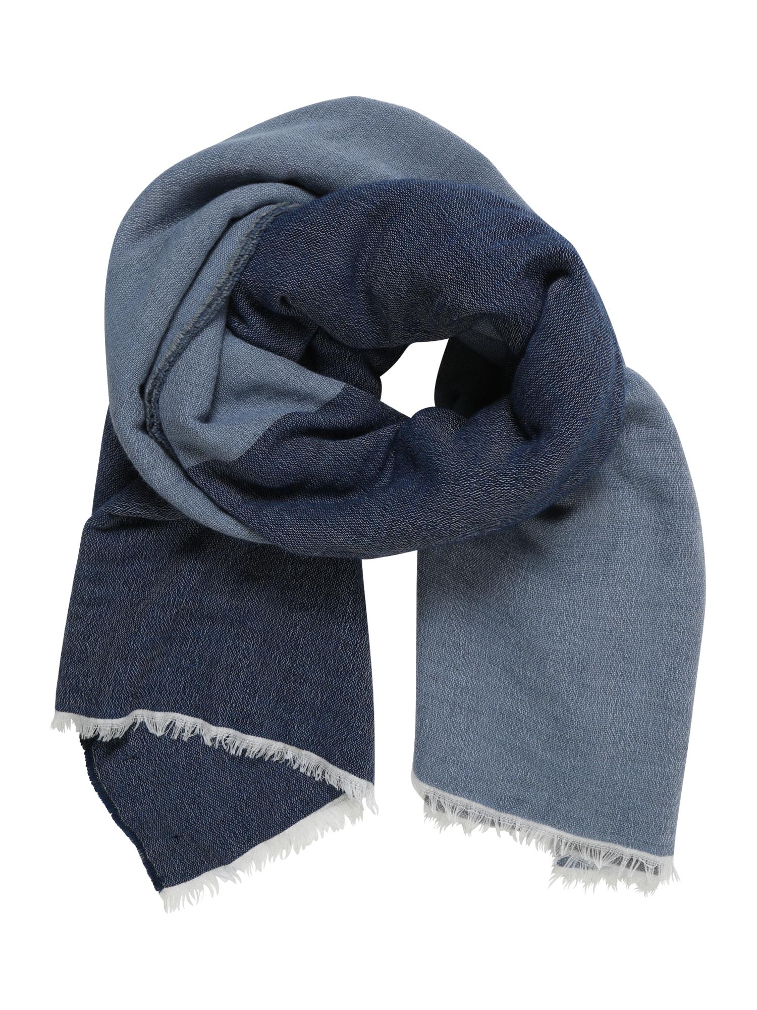 REPLAY Fular  albastru / gri