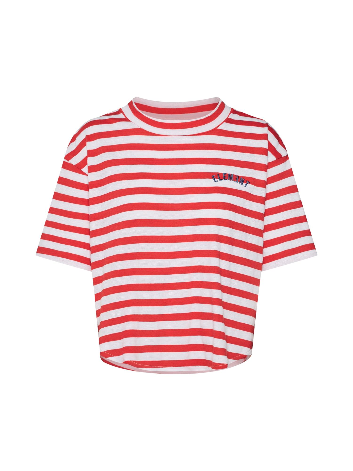 Tričko Loveless červená bílá ELEMENT