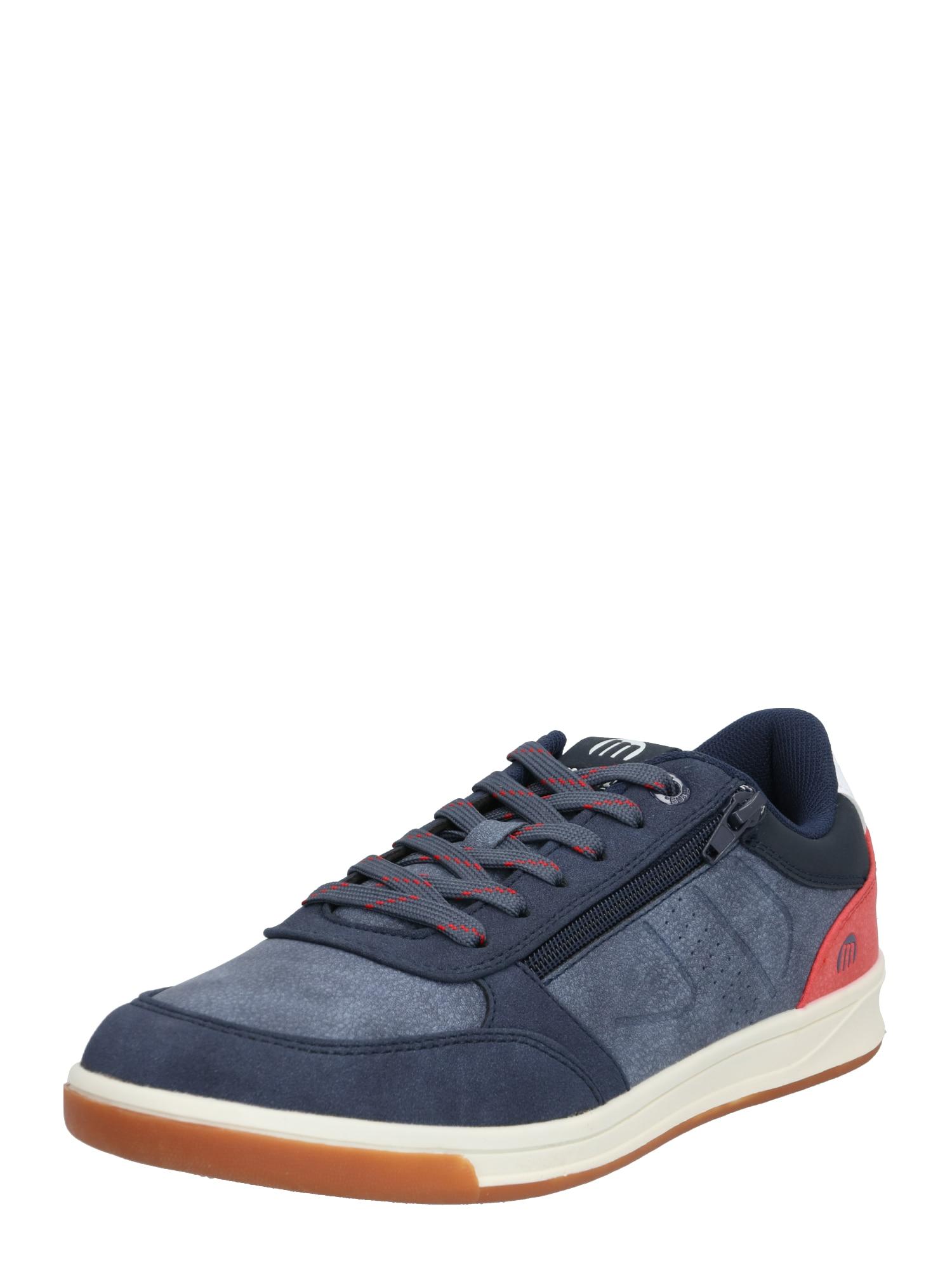 MTNG Nízke tenisky 'ROMA'  červené / modré / biela