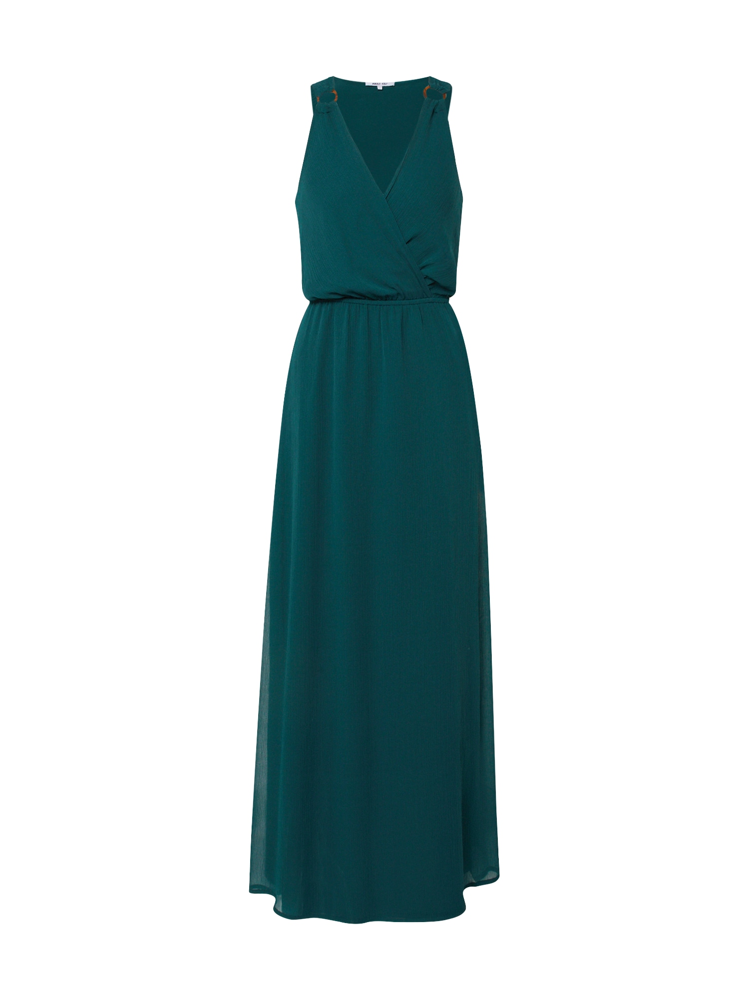 ABOUT YOU Vakarinė suknelė 'Cora' smaragdinė spalva