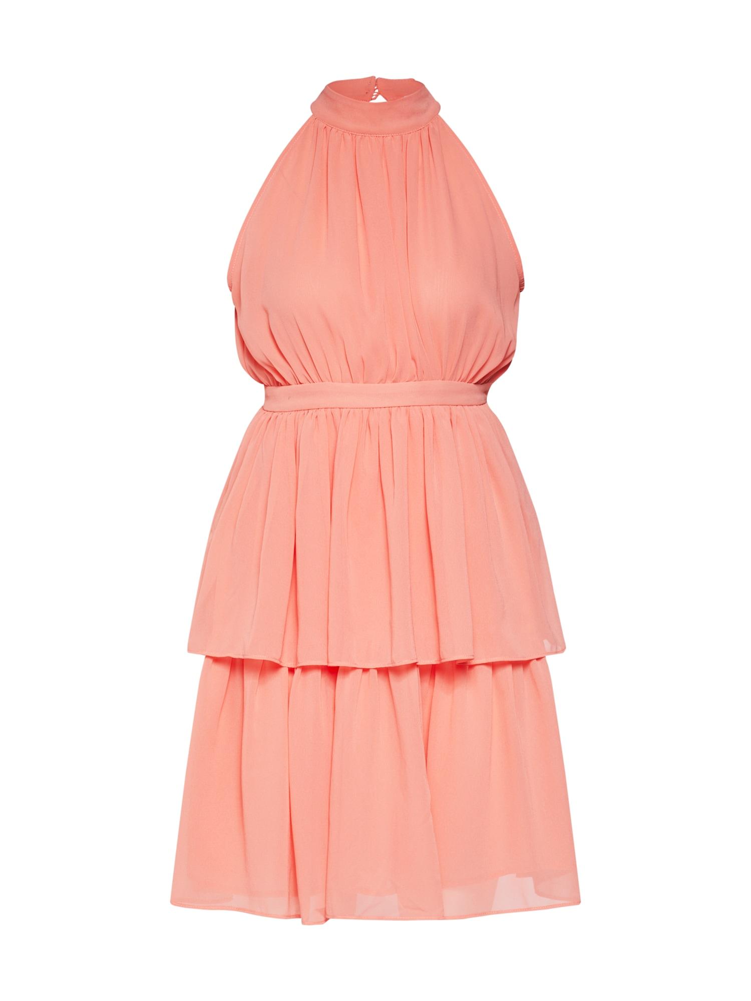 Koktejlové šaty Kira dress korálová MICHALSKY FOR ABOUT YOU