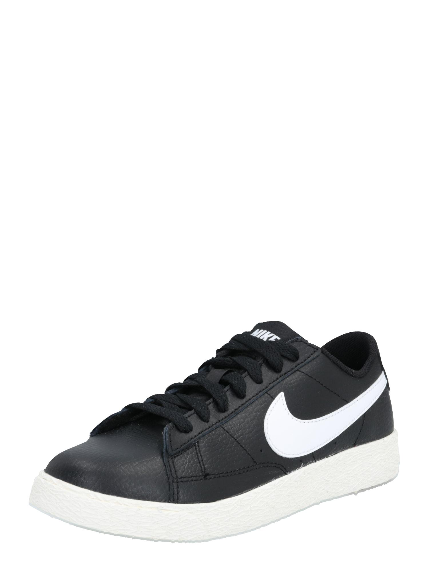 Nike Sportswear Sportbačiai balta / juoda