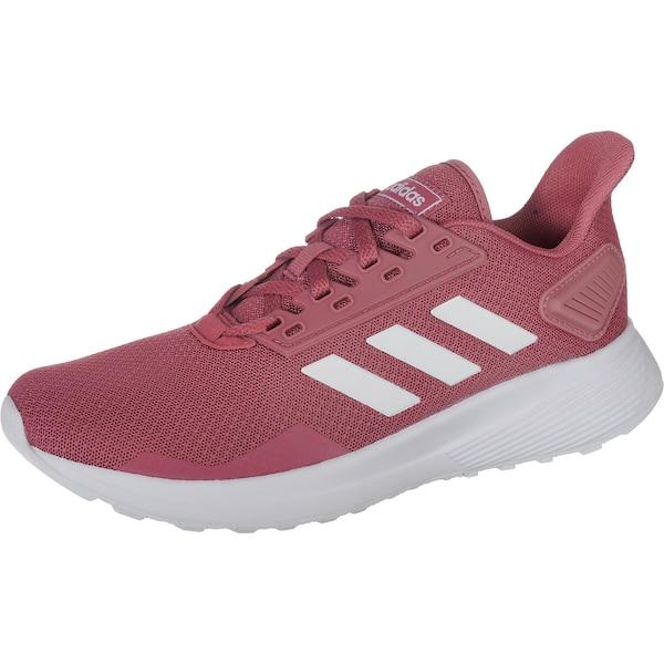 Sportschuhe für Frauen - Laufschuhe 'DURAMO 9' › ADIDAS PERFORMANCE › rot weiß  - Onlineshop ABOUT YOU