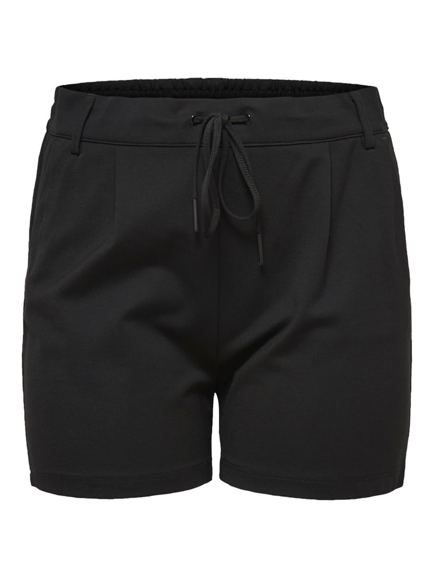 ONLY Carmakoma Kelnės 'Cargoldtrash Easy' juoda