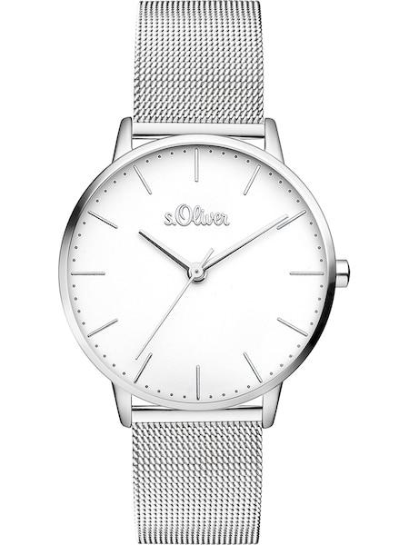 Uhren für Frauen - S.Oliver Damenuhr 'SO 3444 MQ' silber  - Onlineshop ABOUT YOU