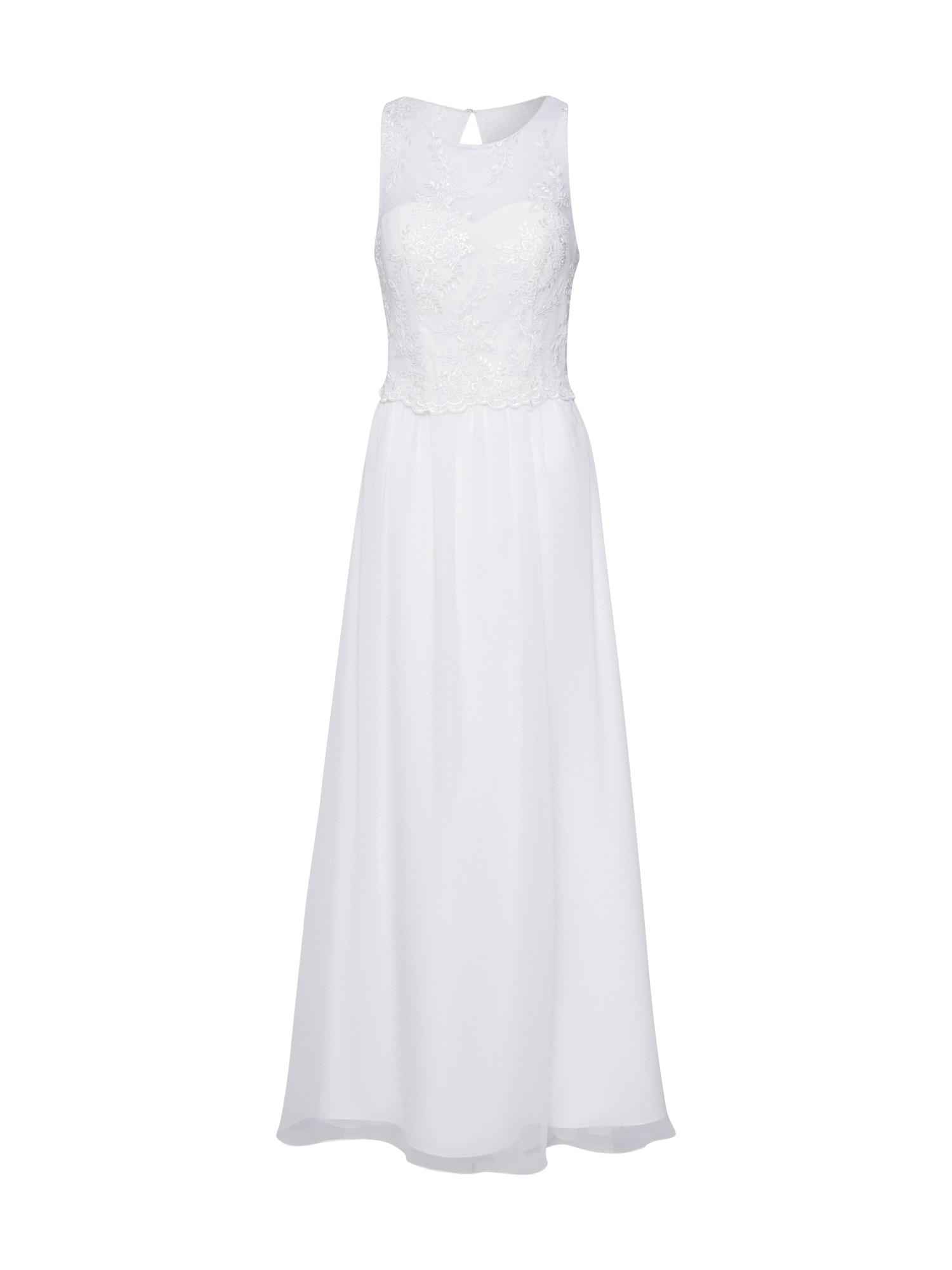 Unique Vakarinė suknelė balta / kremo