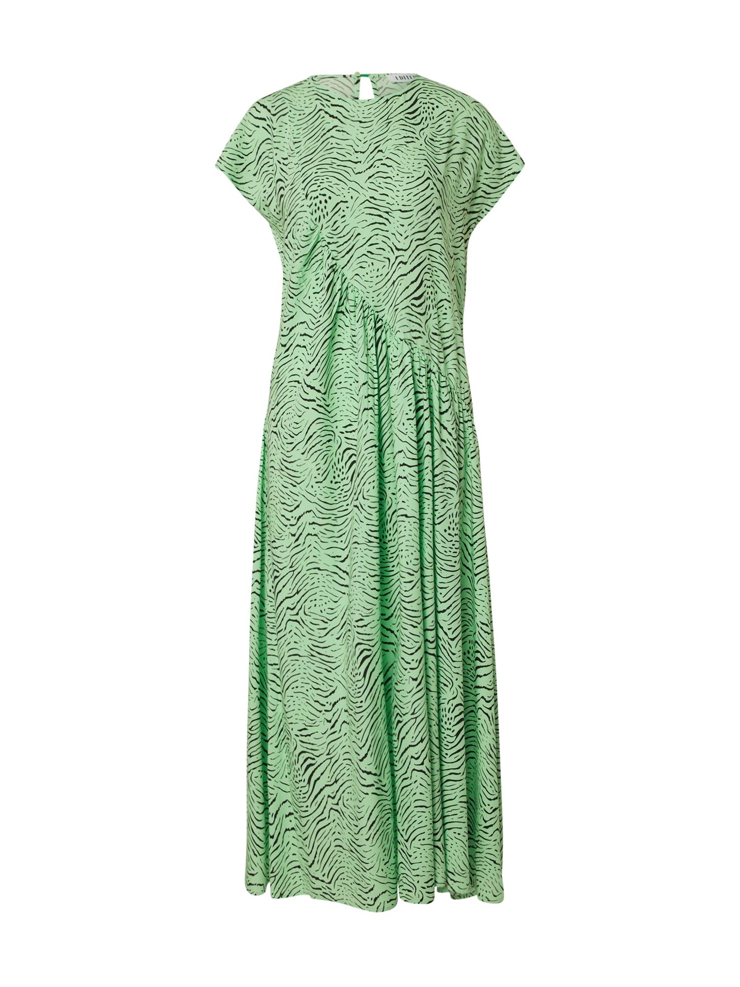 EDITED Vasarinė suknelė žolės žalia