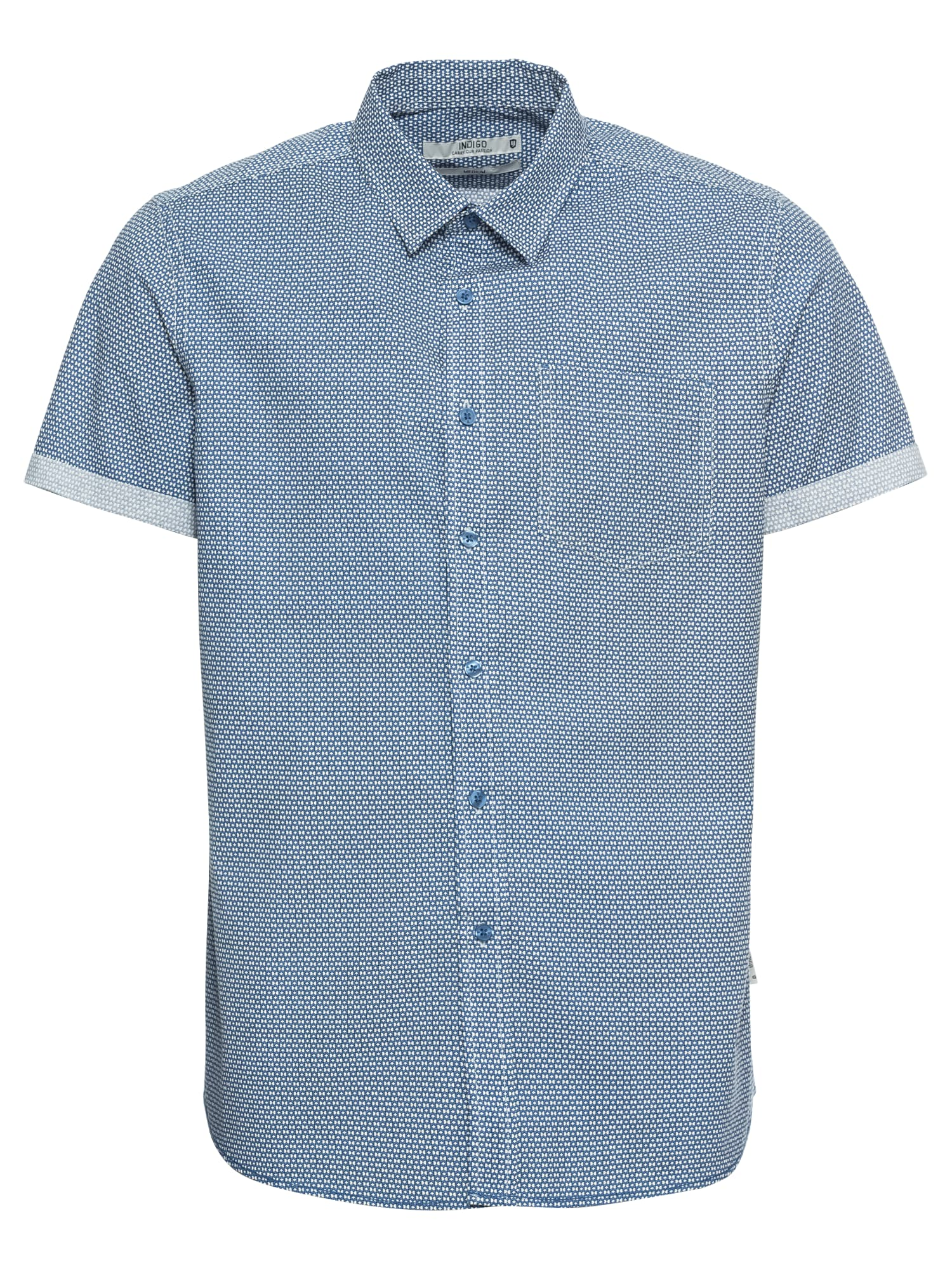 Košile Charlton světlemodrá INDICODE JEANS
