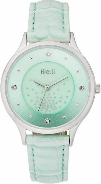 Uhren für Frauen - FIRETTI Quarzuhr mint silber  - Onlineshop ABOUT YOU