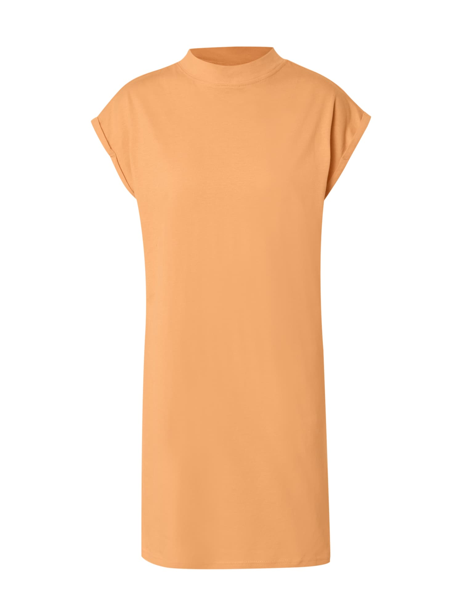 Urban Classics Curvy Šaty  oranžová