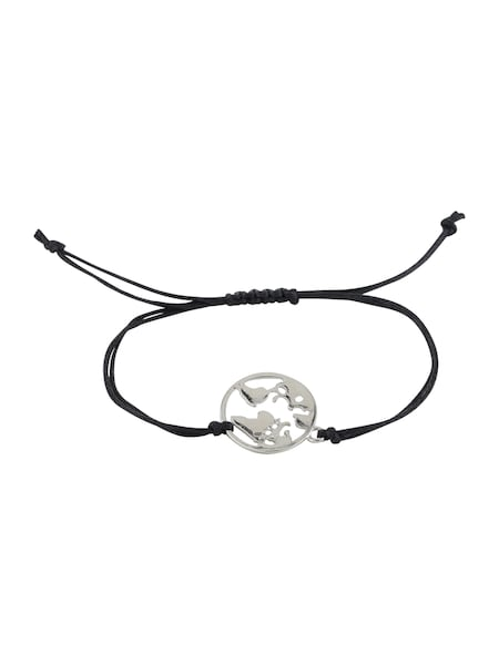 Armbaender für Frauen - Armband 'Vivian' › ABOUT YOU › schwarz silber  - Onlineshop ABOUT YOU
